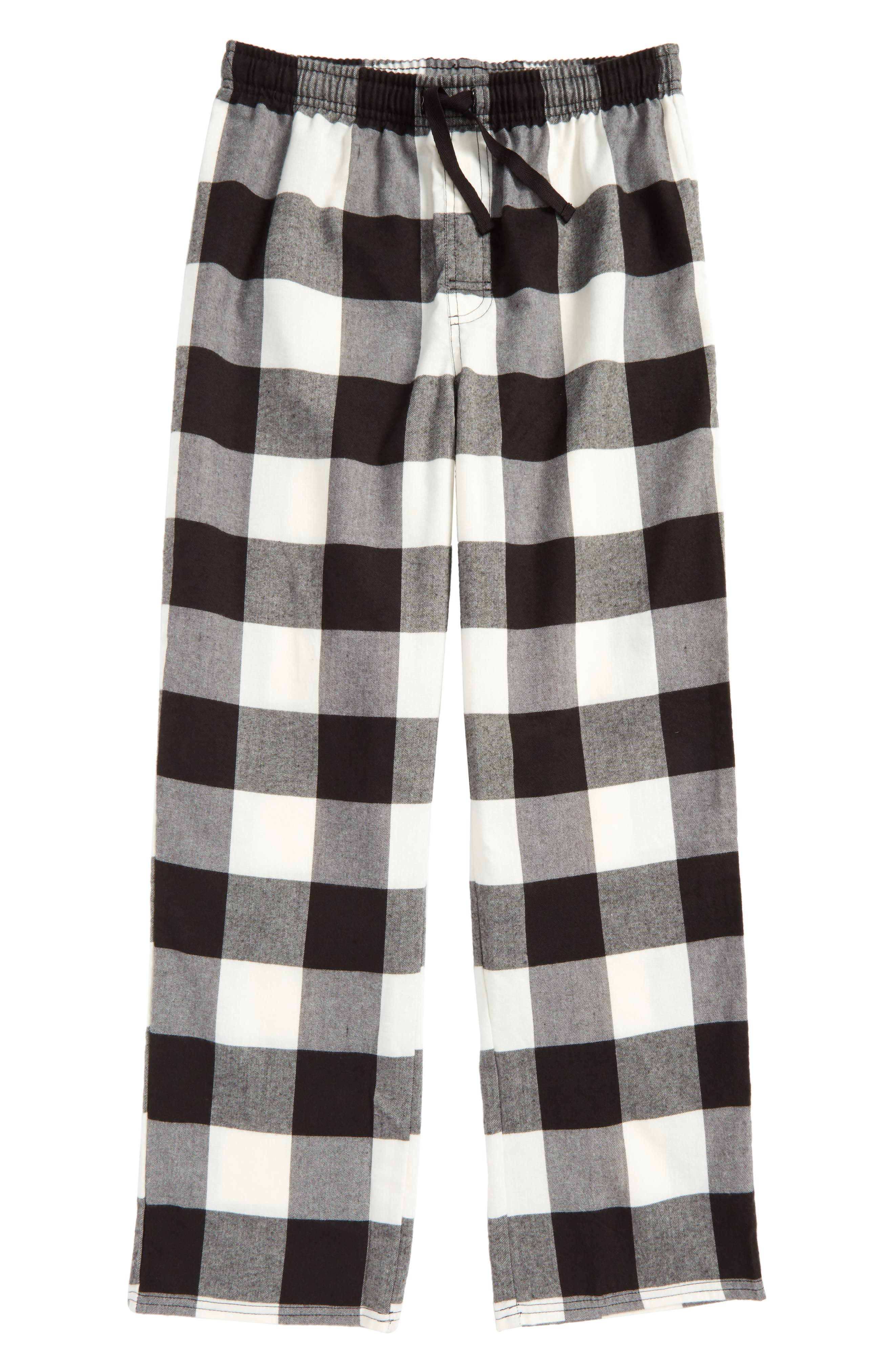 Plaid Flannel Pants,                             Main thumbnail 2, color,