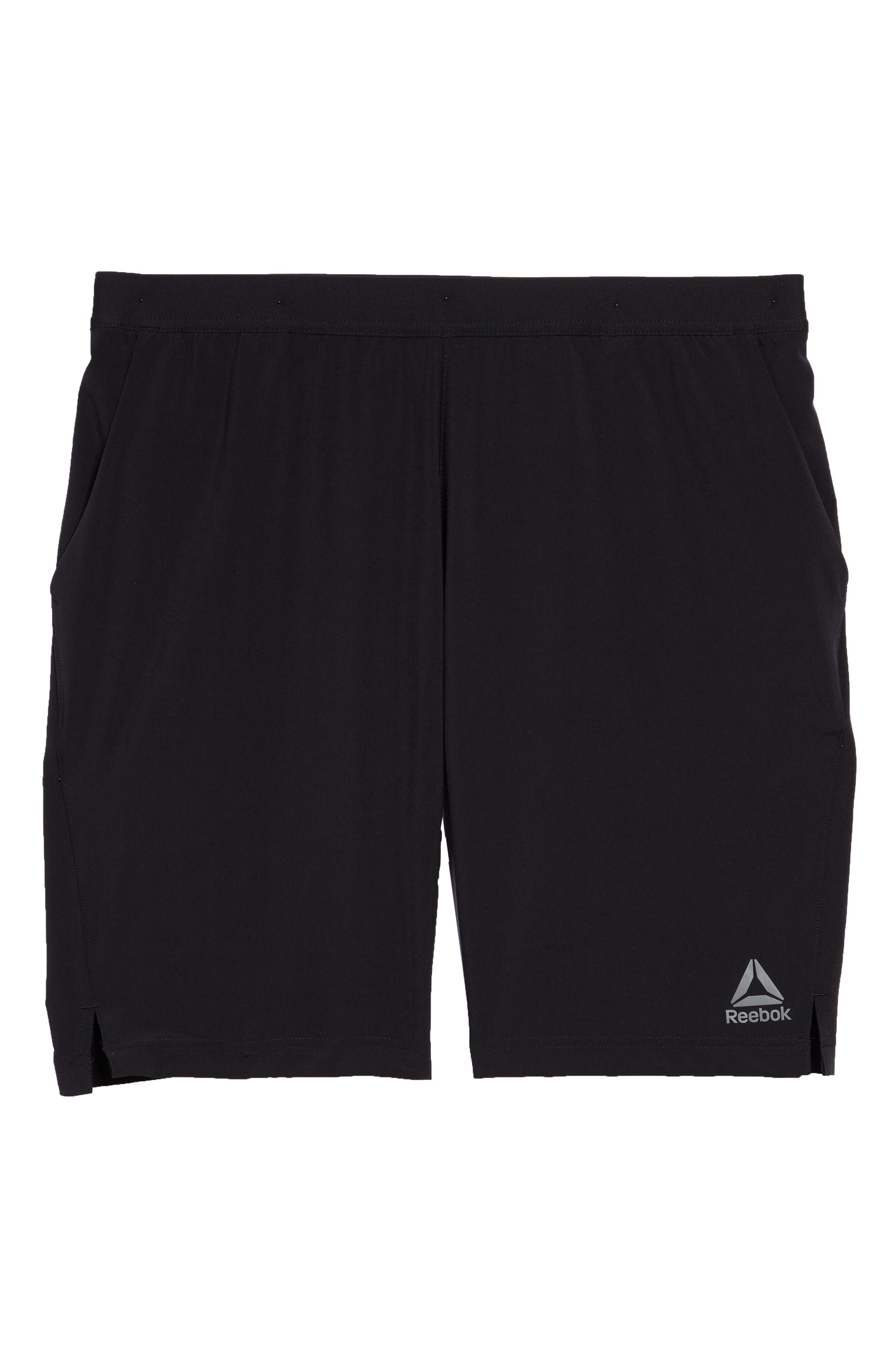 Speedwick Speed Training Shorts,                             Alternate thumbnail 6, color,                             BLACK