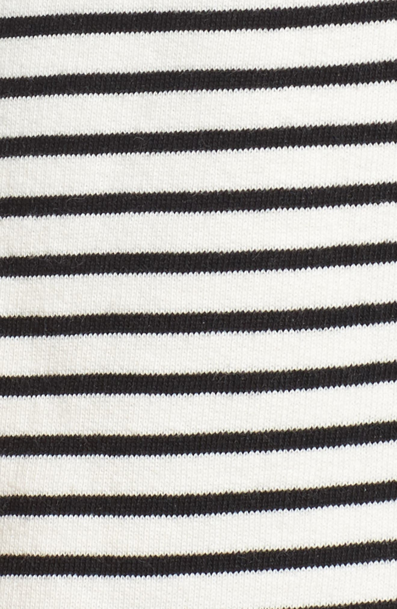 Tie Sleeve Knit Blazer,                             Alternate thumbnail 7, color,                             008
