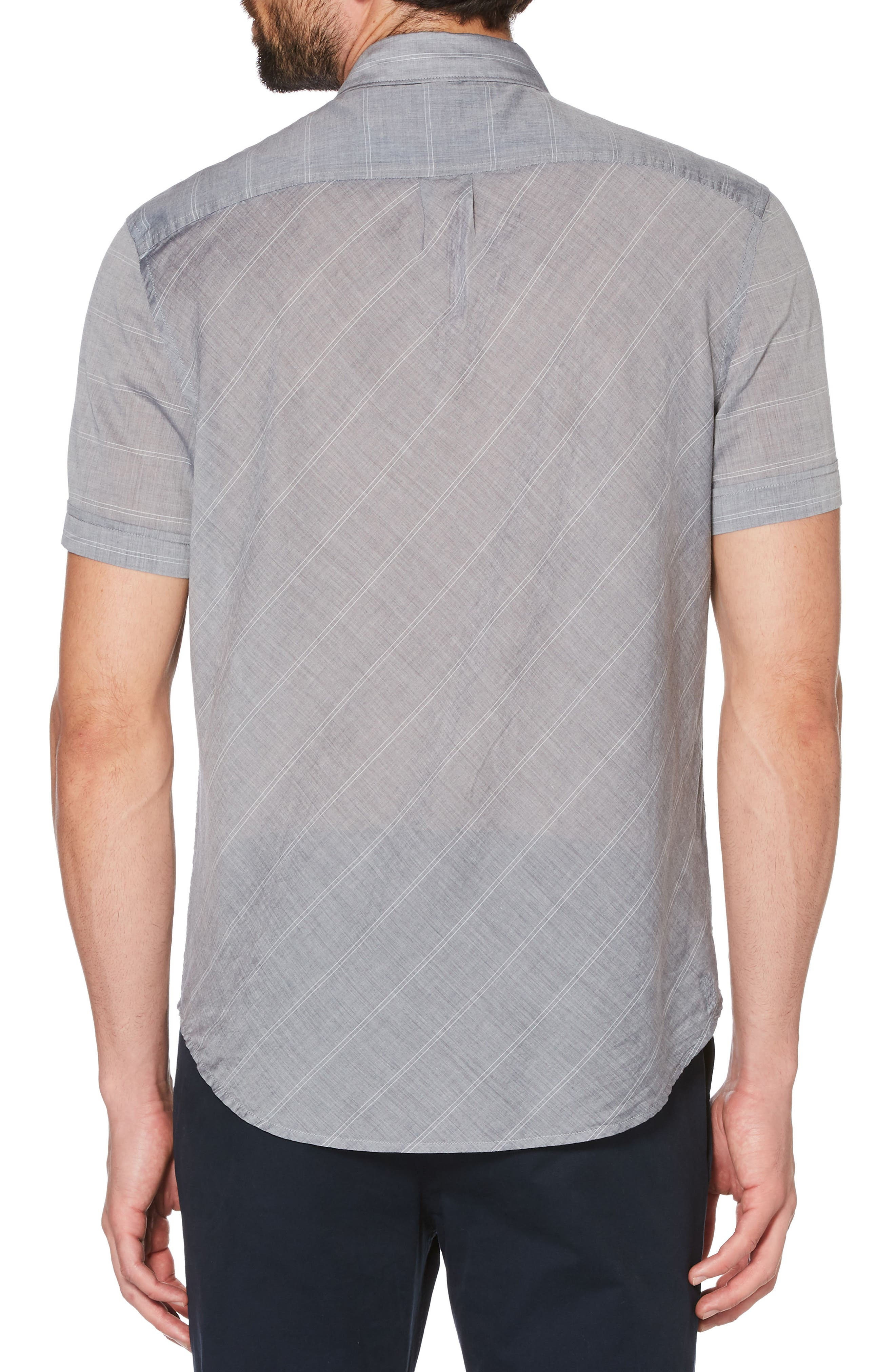 Engineered Stripe Shirt,                             Alternate thumbnail 4, color,