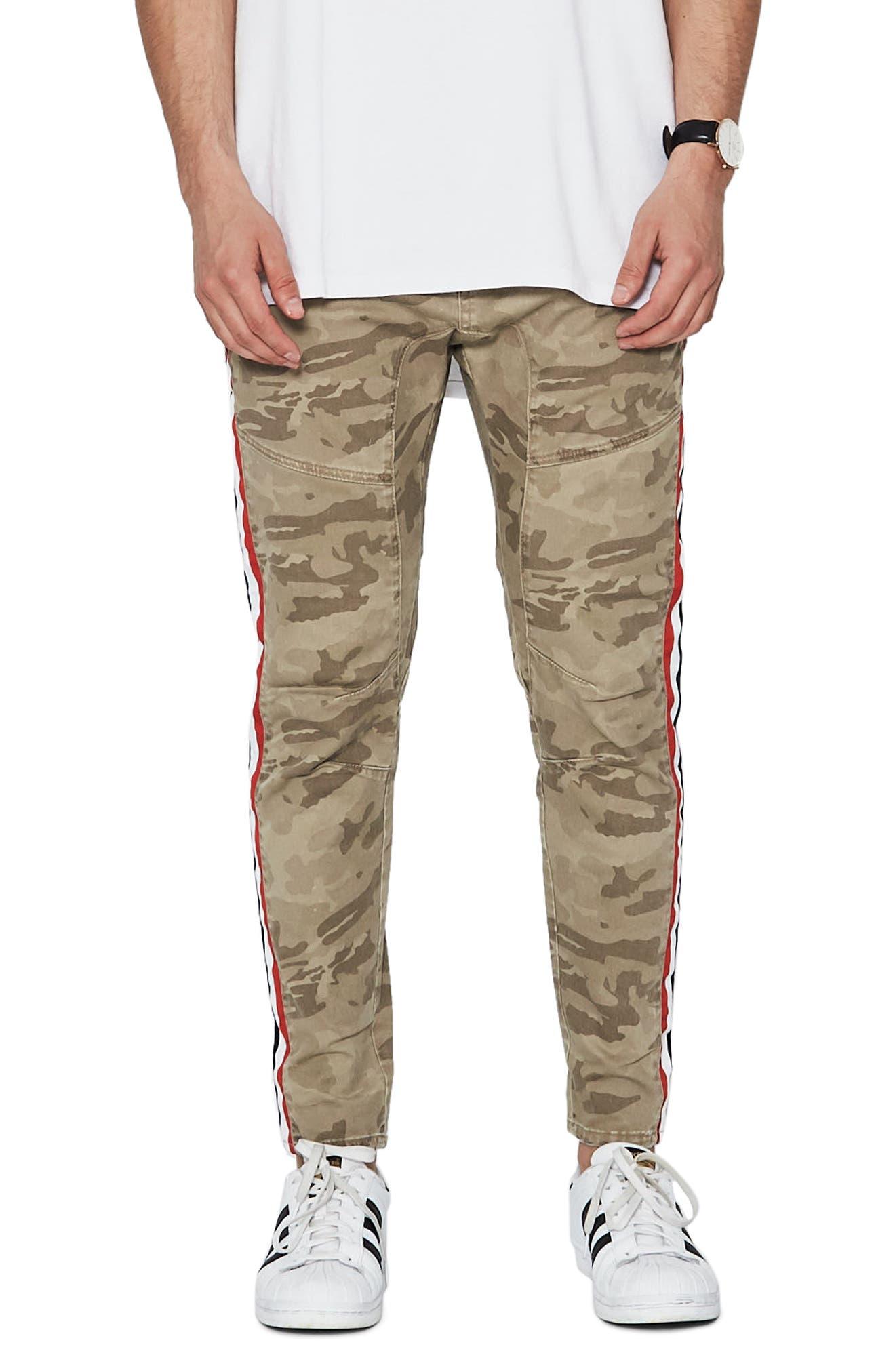 Sergeant Slim Fit Pants,                         Main,                         color, SANDSTROM CAMO