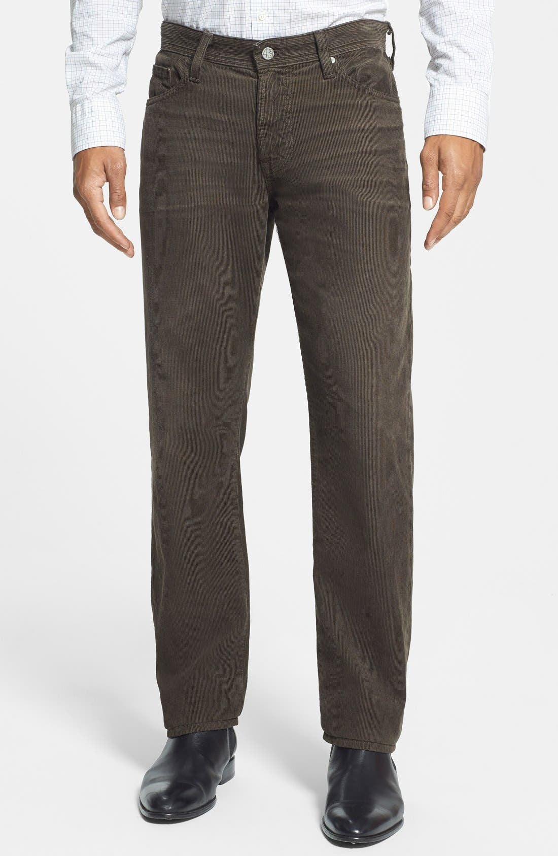 'Graduate' Tailored Straight Leg Corduroy Pants,                             Main thumbnail 7, color,