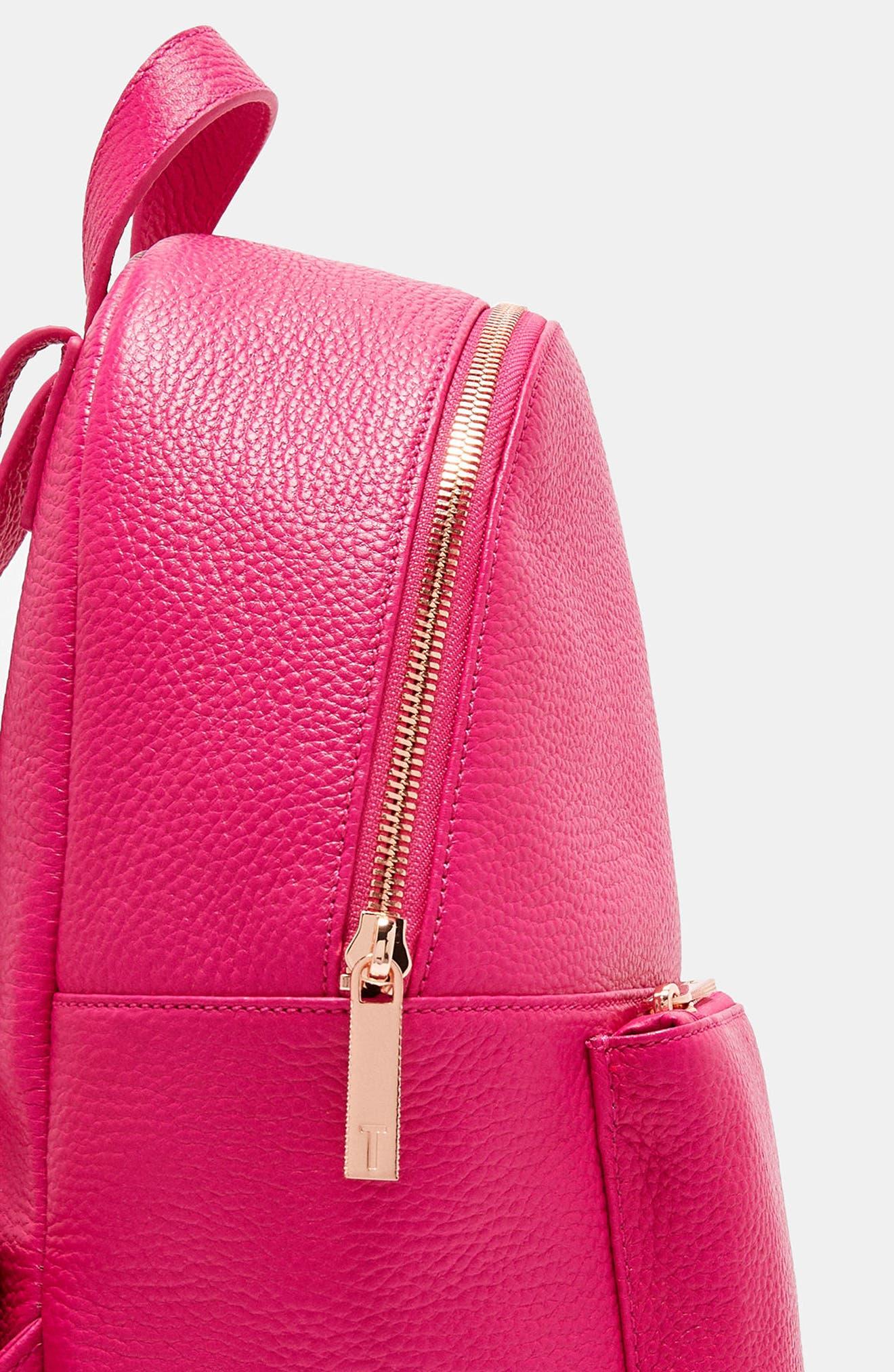Pearen Leather Backpack,                             Alternate thumbnail 20, color,