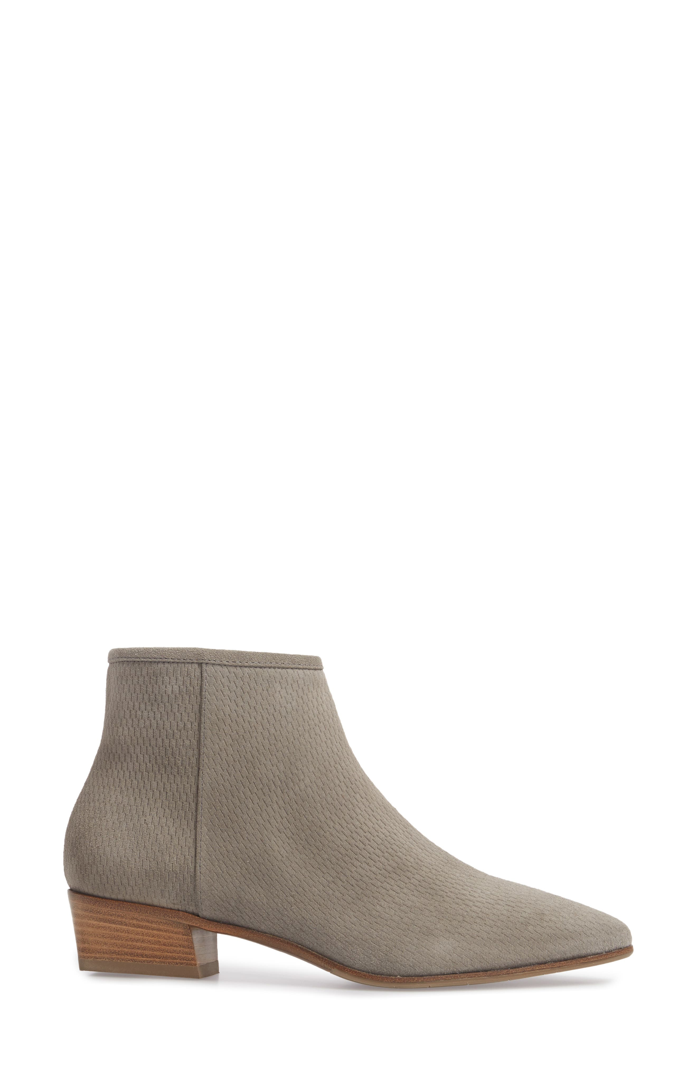 Fire Embossed Bootie,                             Alternate thumbnail 3, color,                             020