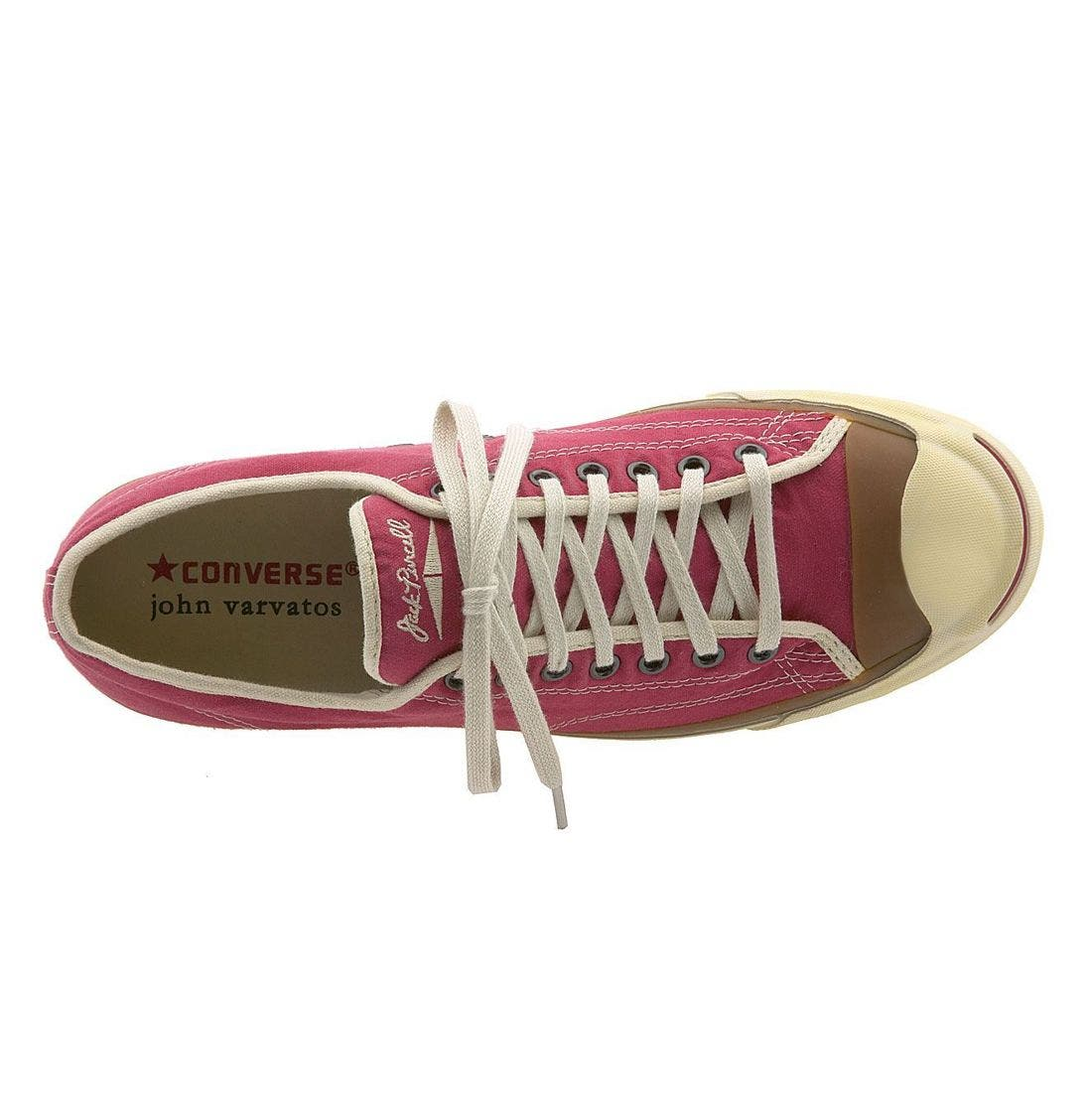 'Jack Purcell' Sneaker,                             Alternate thumbnail 3, color,                             RED