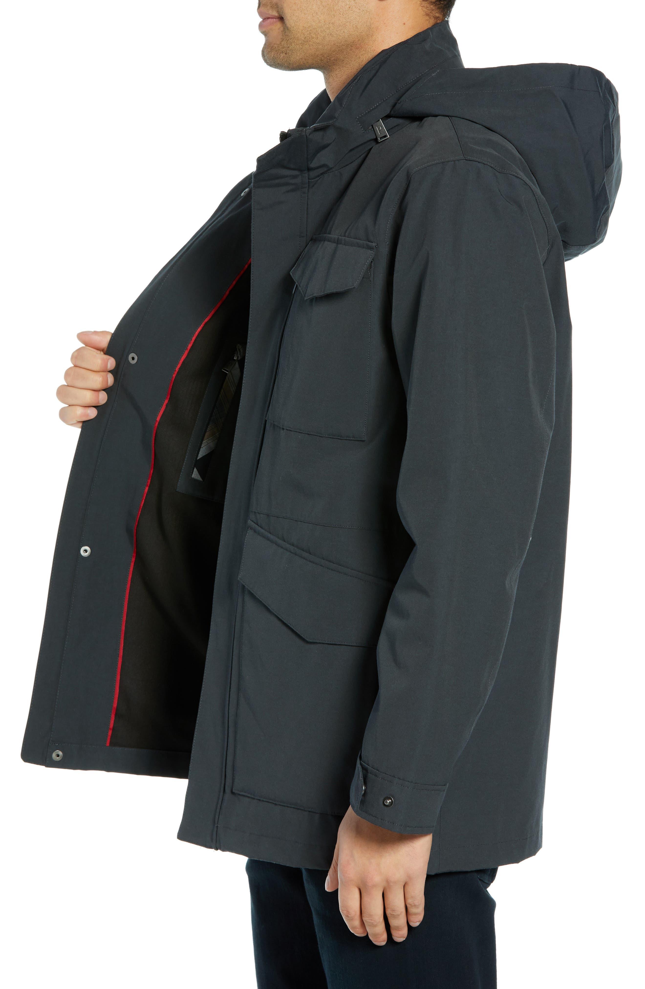 Clyde Hill Commuter Coat,                             Alternate thumbnail 3, color,                             SLATE