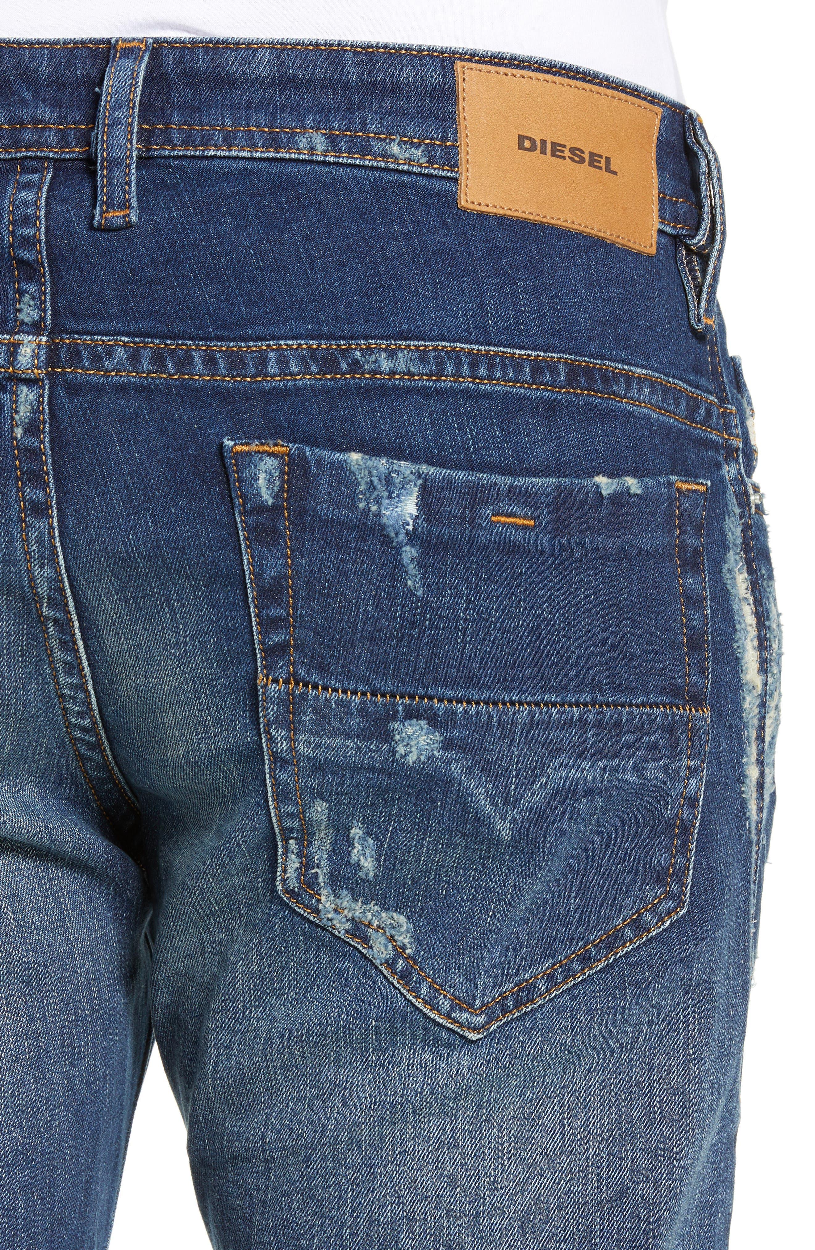 Thommer Slim Fit Jeans,                             Alternate thumbnail 4, color,                             084YY