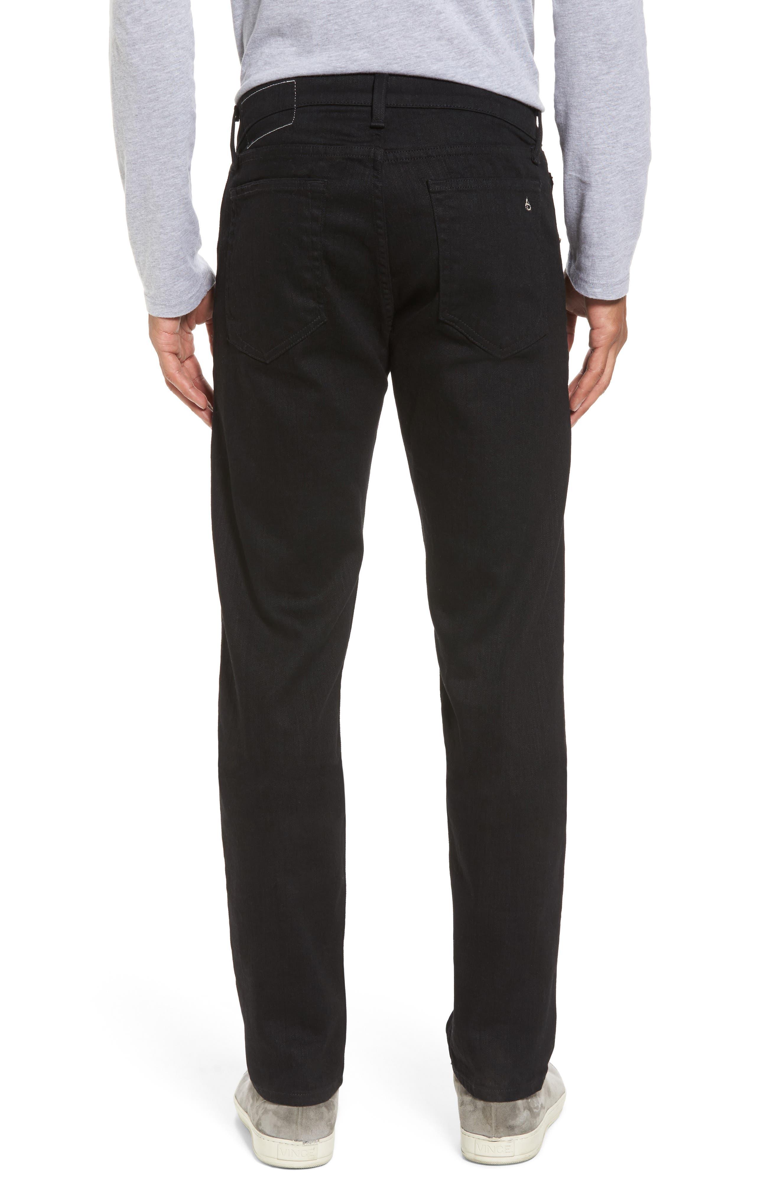 Fit 2 Slim Fit Jeans,                             Alternate thumbnail 2, color,                             BLACK