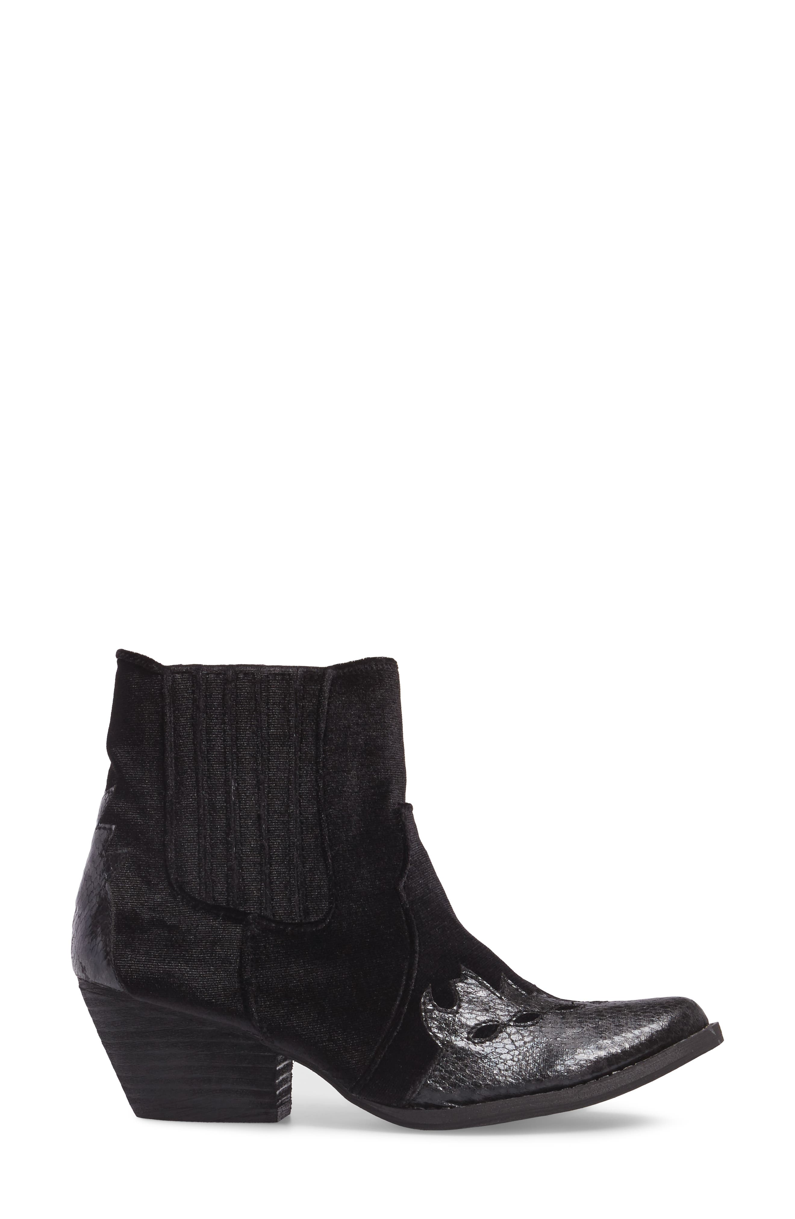 Sava Western Chelsea Bootie,                             Alternate thumbnail 3, color,                             001