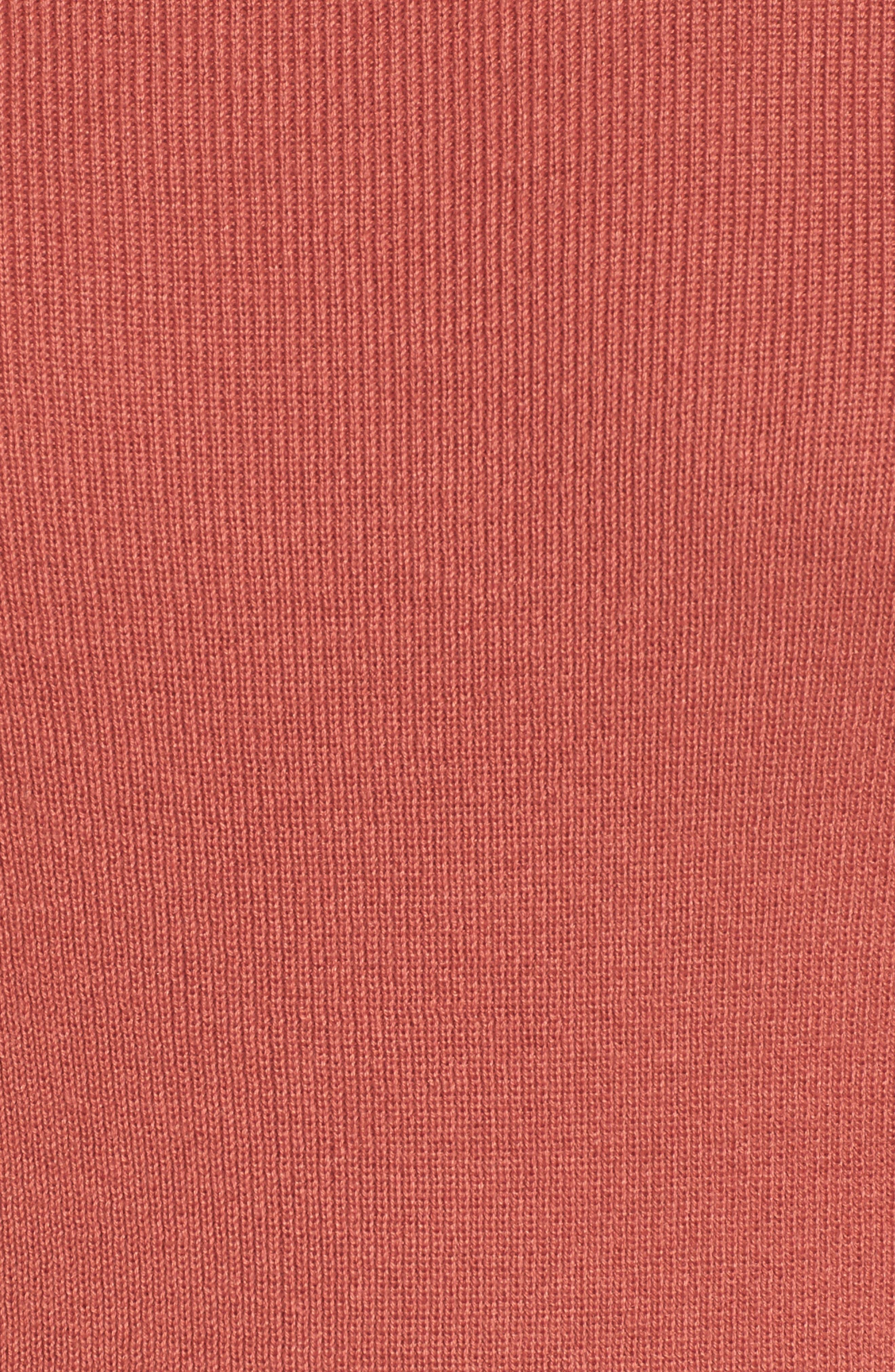 Bell Sleeve Rib Sweater,                             Alternate thumbnail 20, color,