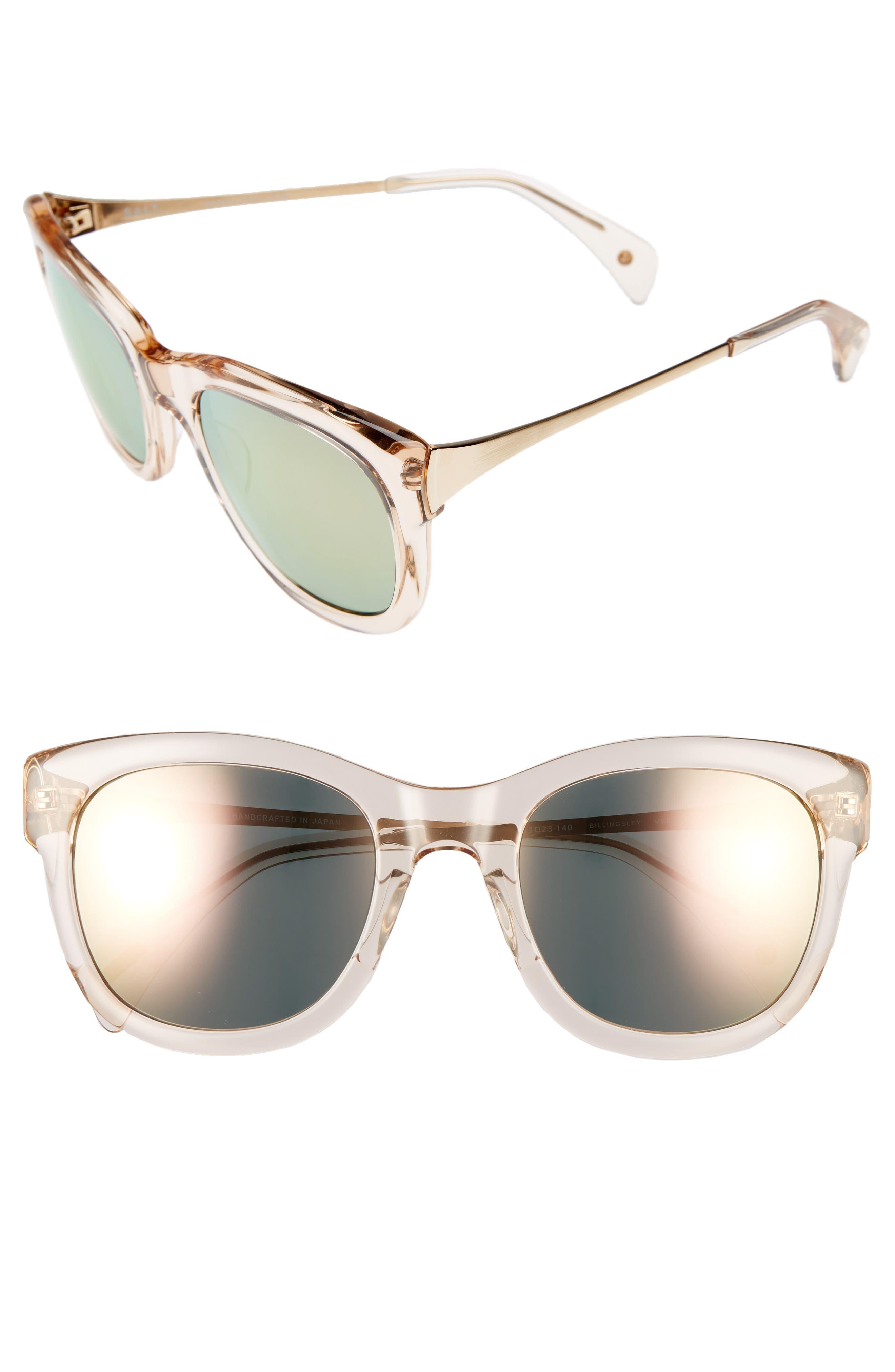 Billingsley 53mm Polarized Rectangular Sunglasses,                             Main thumbnail 1, color,                             300