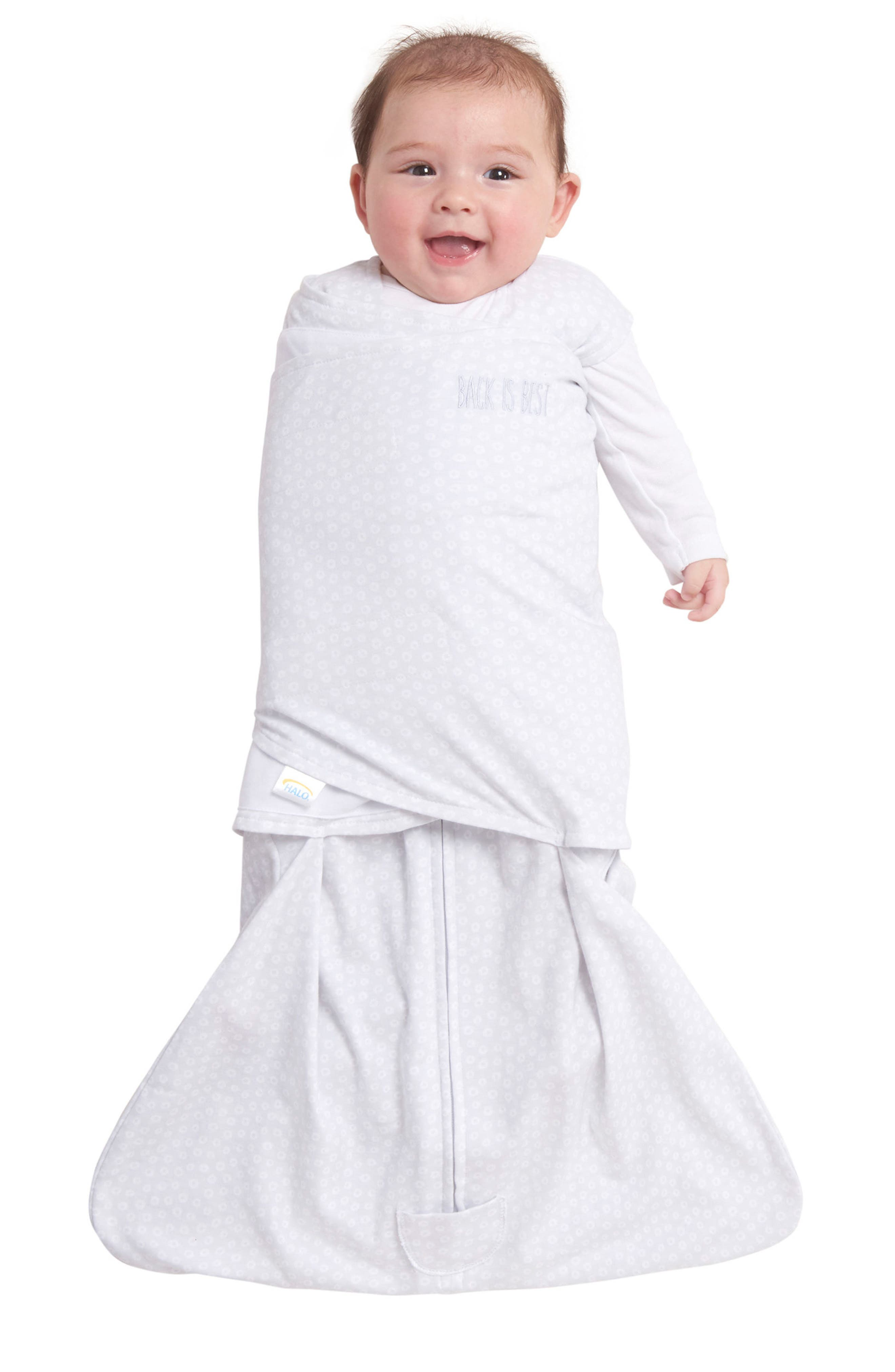 Platinum Series SleepSack<sup>™</sup> Swaddle & SleepSack<sup>™</sup> Set,                             Alternate thumbnail 8, color,                             GREY TINY CIRCLE AND LINES