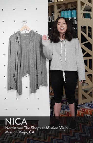 After Class Hooded Cardigan, sales video thumbnail