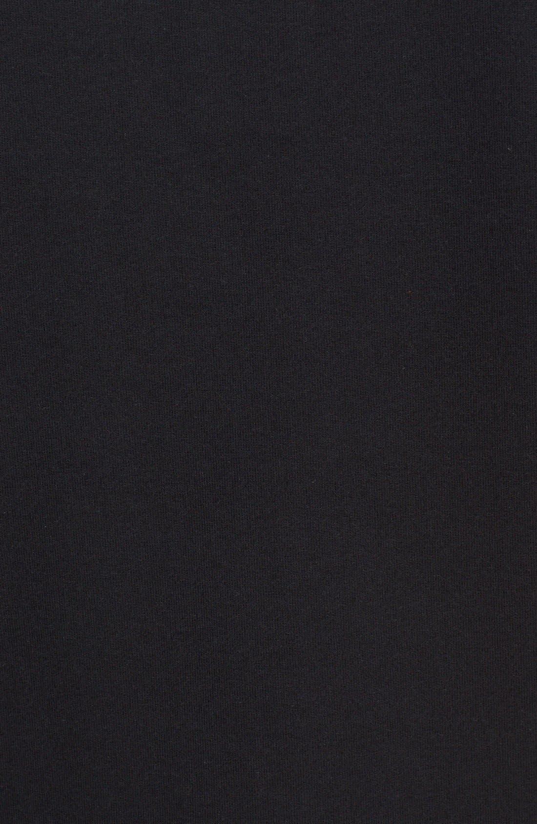 SATURDAYS NYC,                             'Jake' Cotton Polo,                             Alternate thumbnail 5, color,                             001
