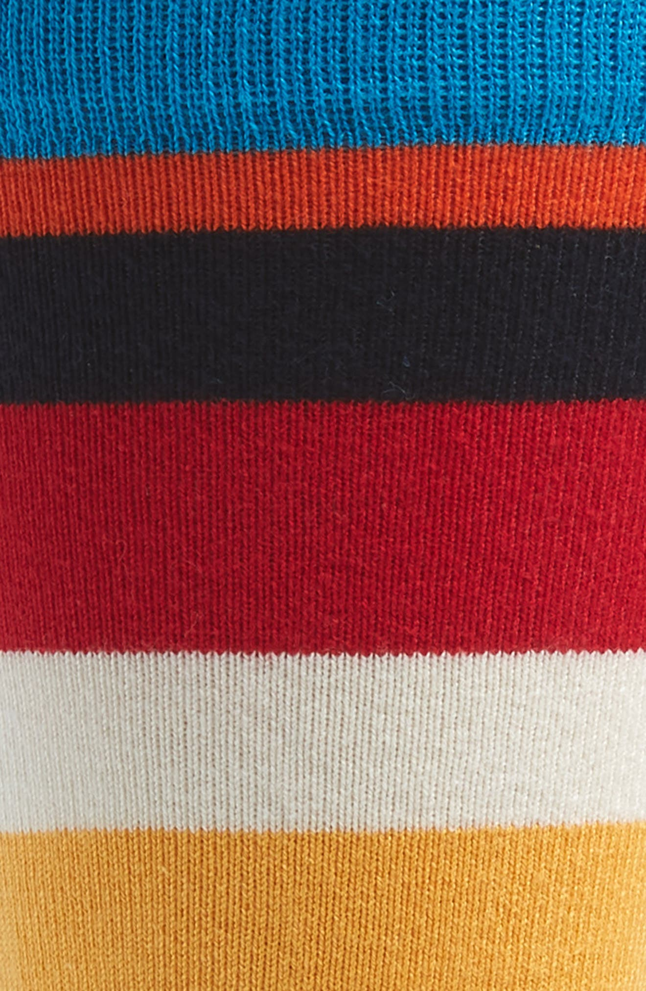 Striped Socks,                             Alternate thumbnail 2, color,                             BLUE MULTI