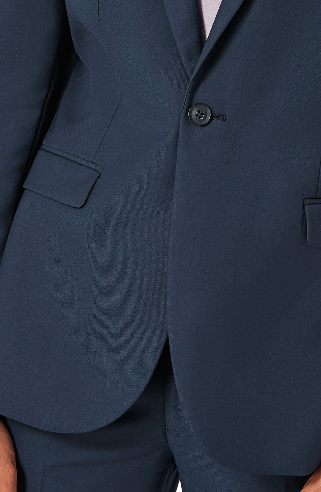 Skinny Fit Suit Jacket,                             Alternate thumbnail 3, color,                             420