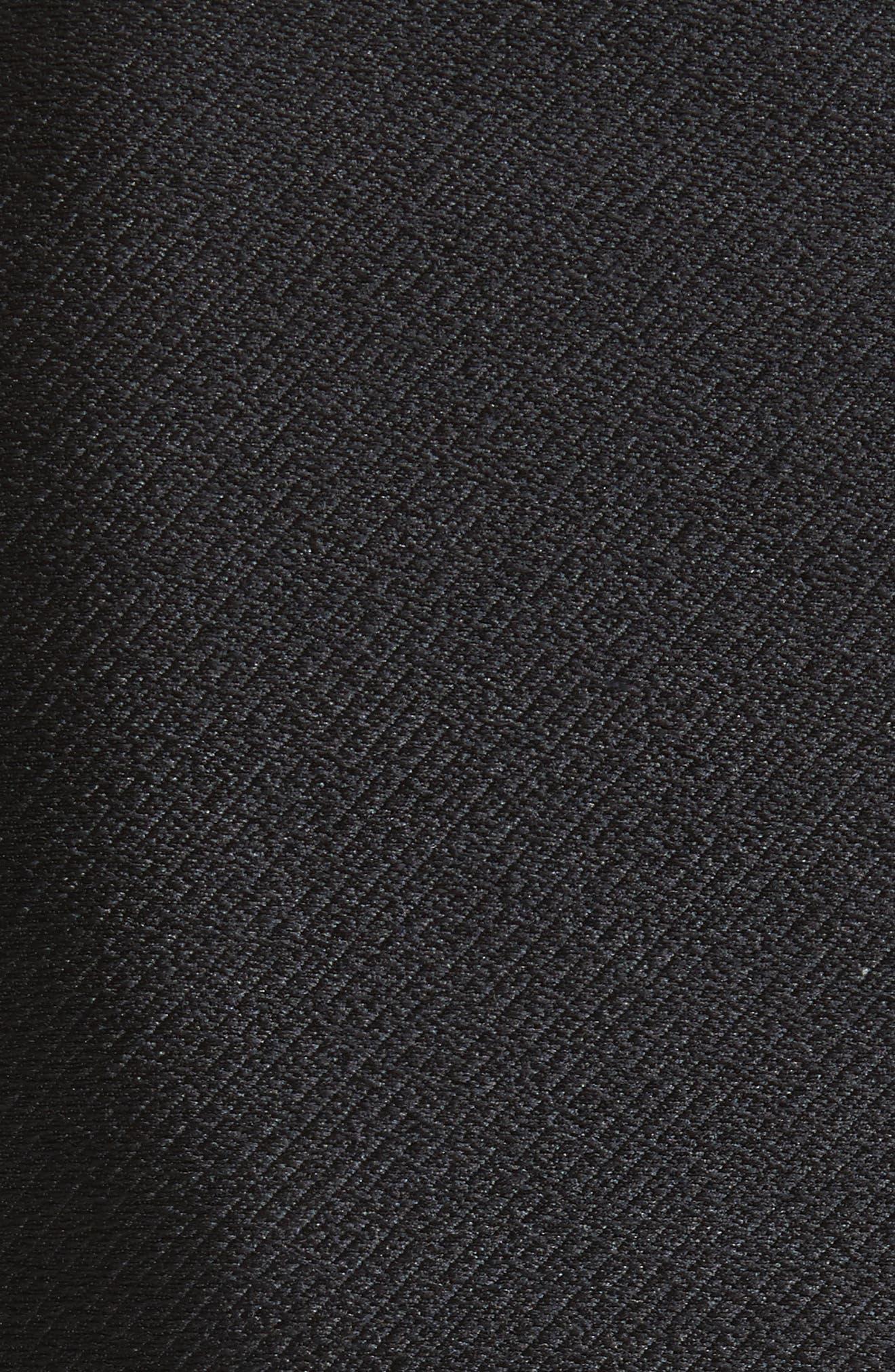 Popover Fit & Flare Dress,                             Alternate thumbnail 5, color,                             001