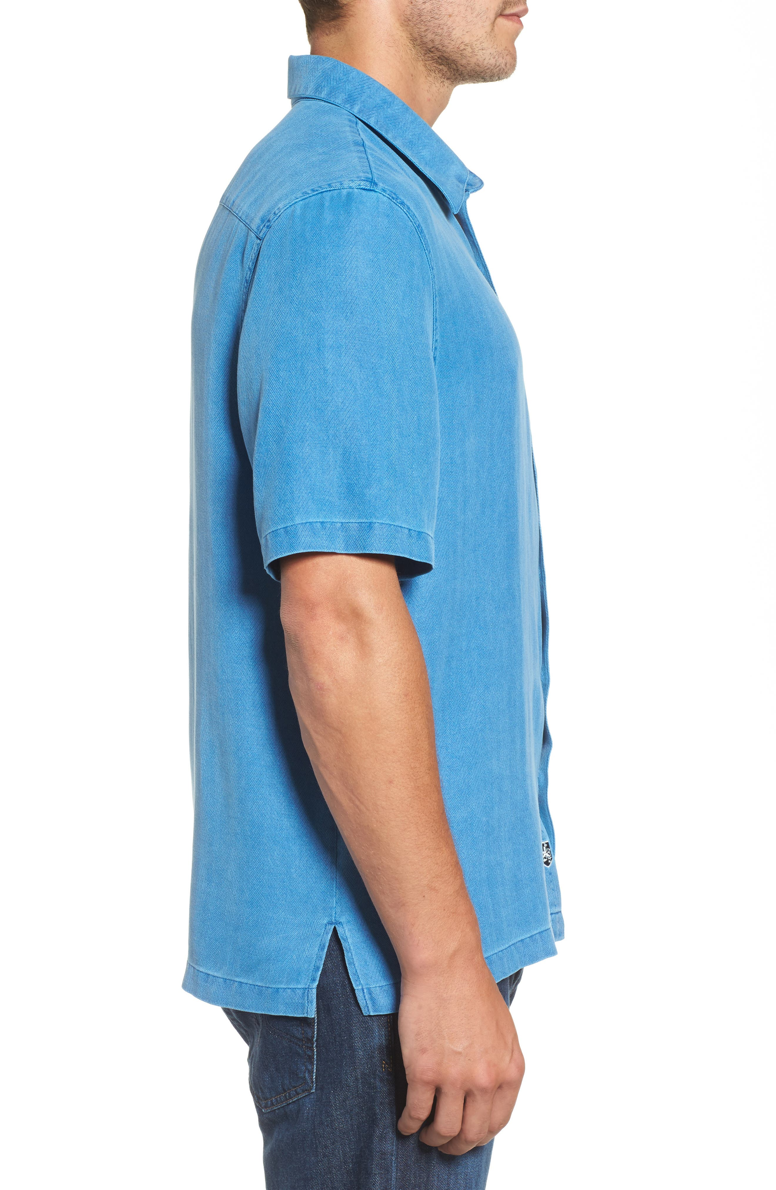 With a Twist Silk Blend Camp Shirt,                             Alternate thumbnail 11, color,