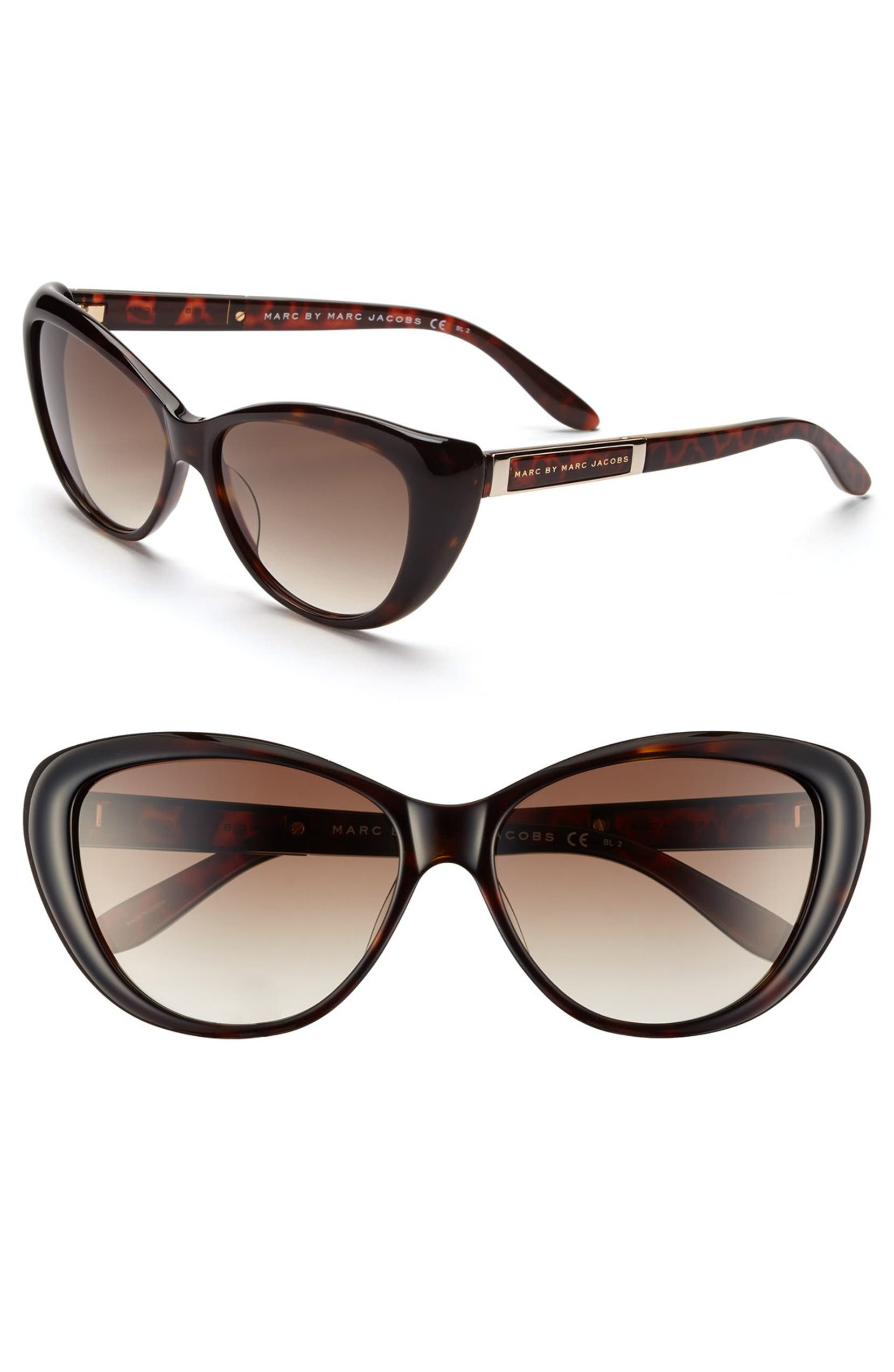 MARC BY MARC JACOBS 56mm Cat Eye Sunglasses   Nordstrom 2164c6f9b6