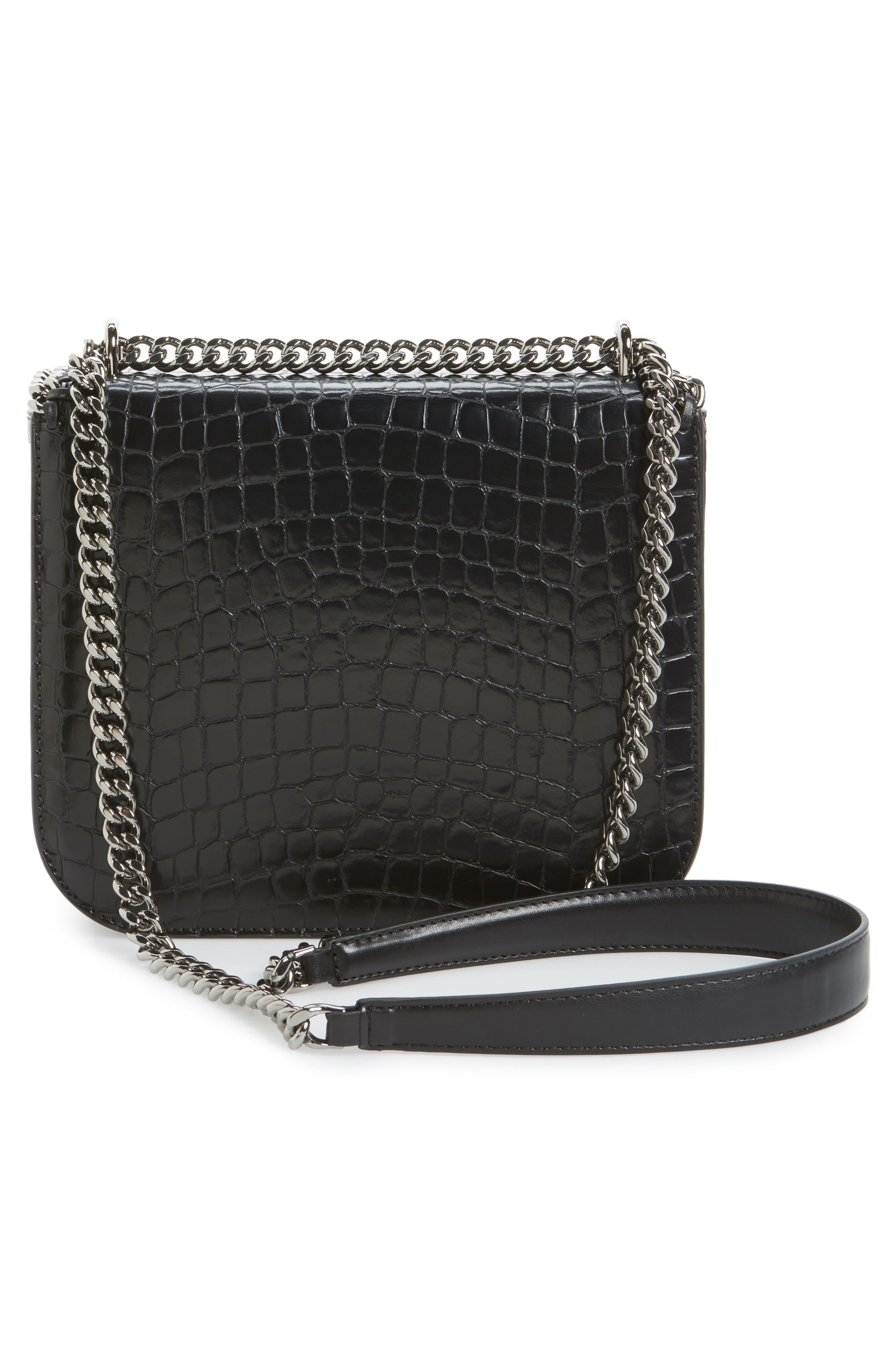 Falabella Box Faux Leather Shoulder Bag,                             Alternate thumbnail 5, color,