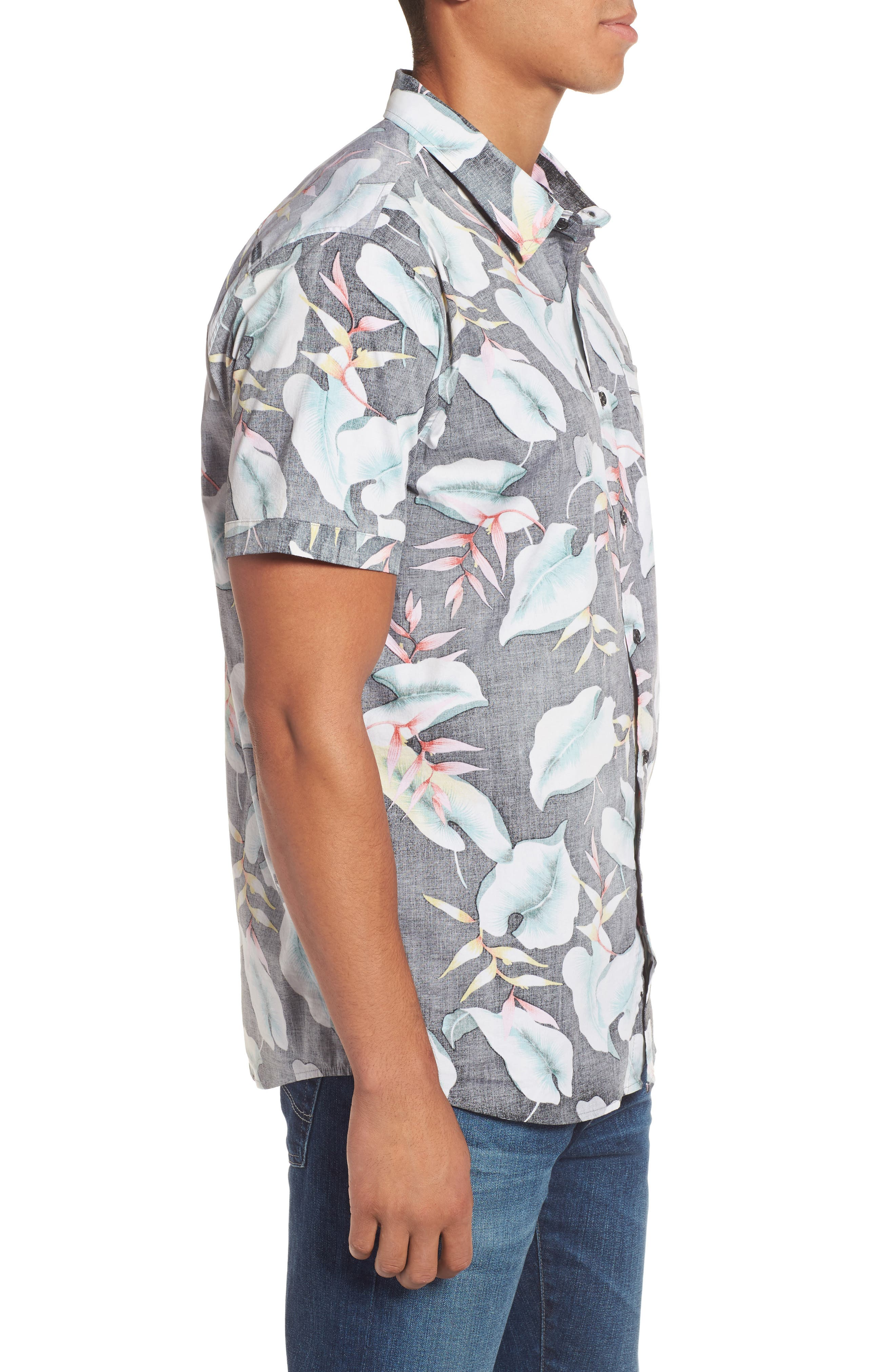 Resort Sport Shirt,                             Alternate thumbnail 3, color,                             001