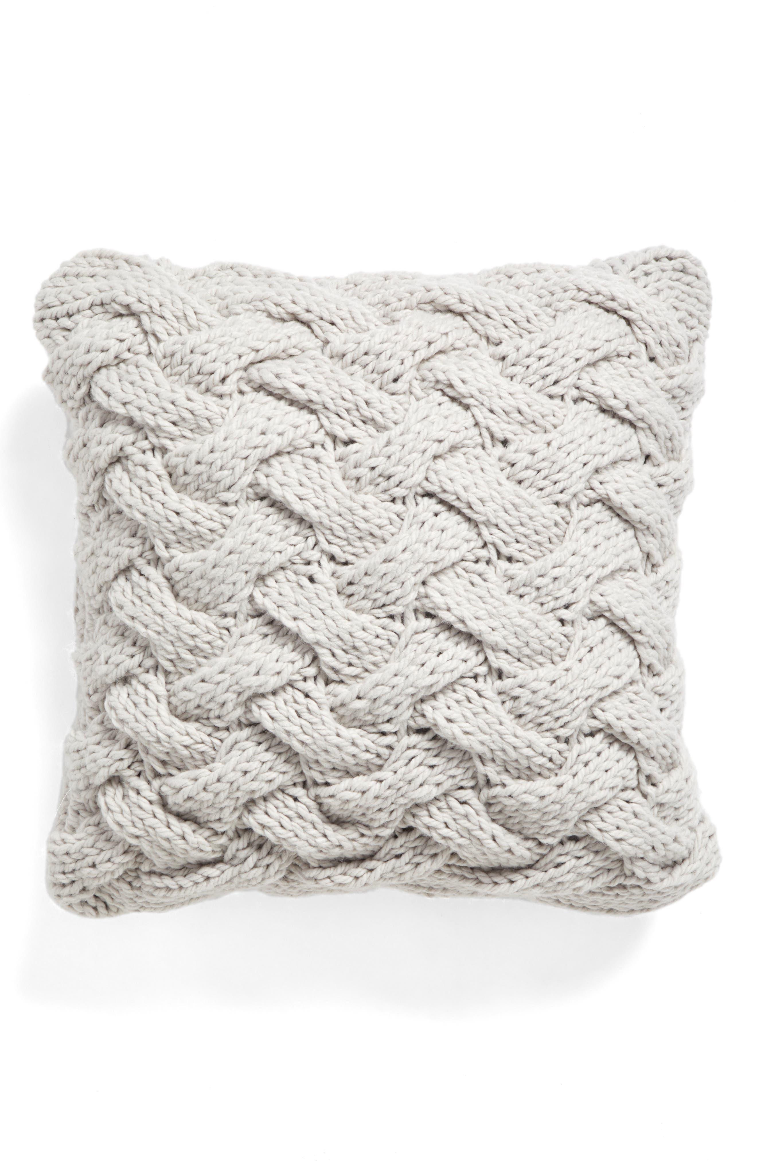Basket Weave Accent Pillow,                             Main thumbnail 1, color,                             020