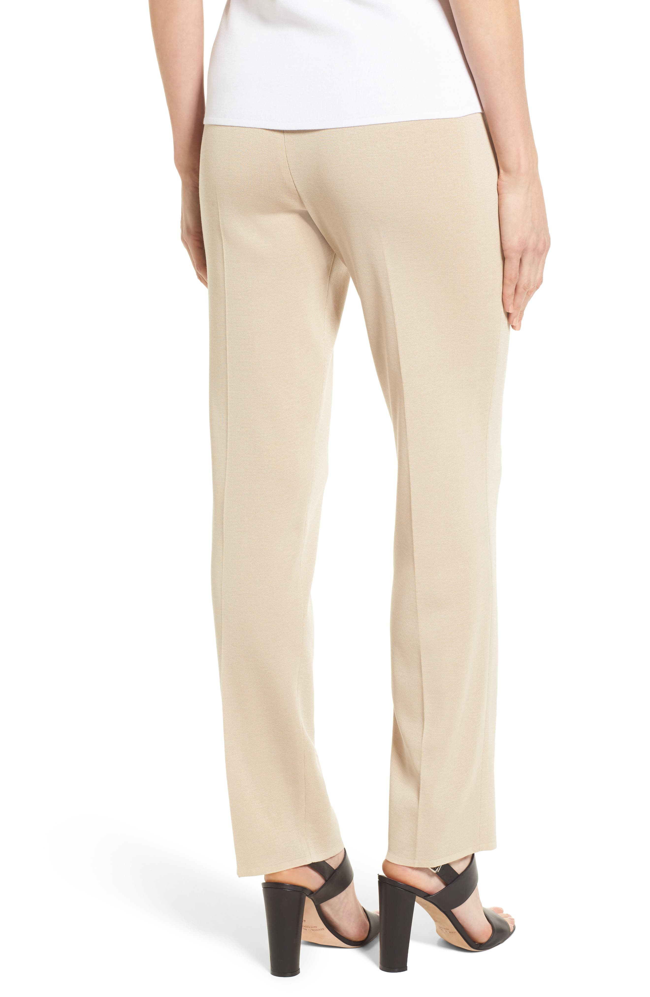 Pull-On Knit Pants,                             Alternate thumbnail 2, color,                             TWIG