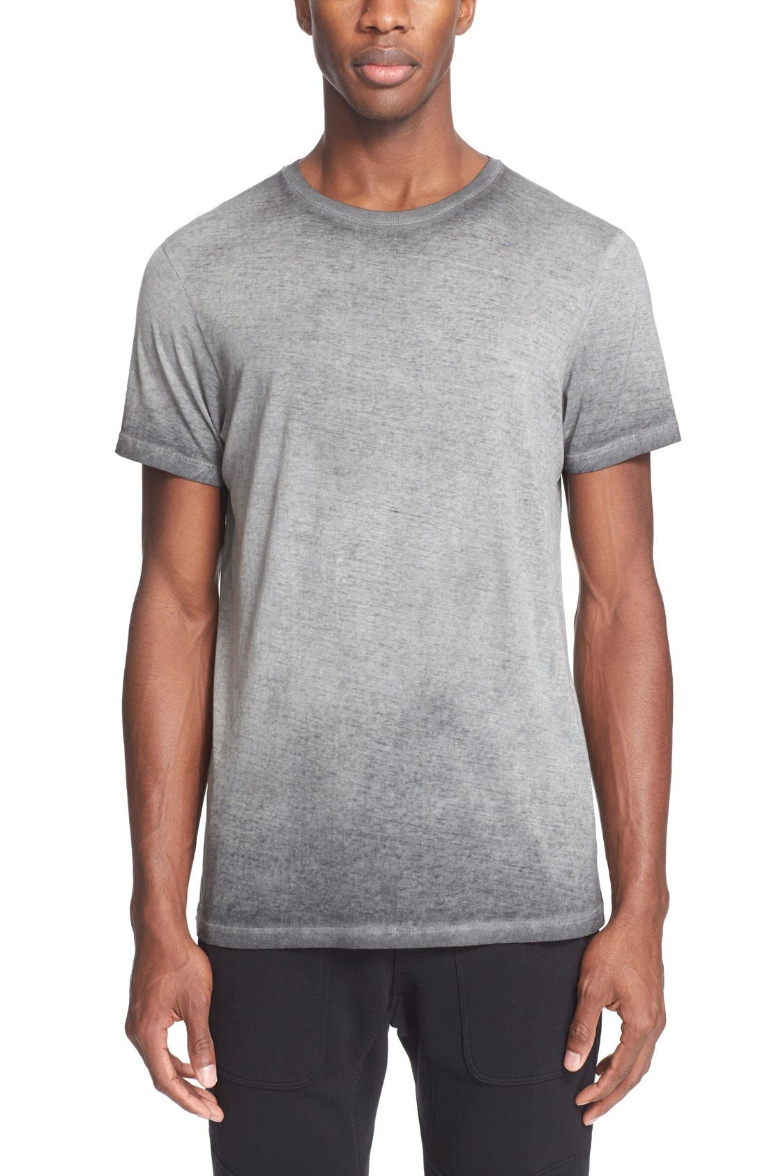 'Trafford' Cotton Crewneck T-Shirt,                         Main,                         color, 001