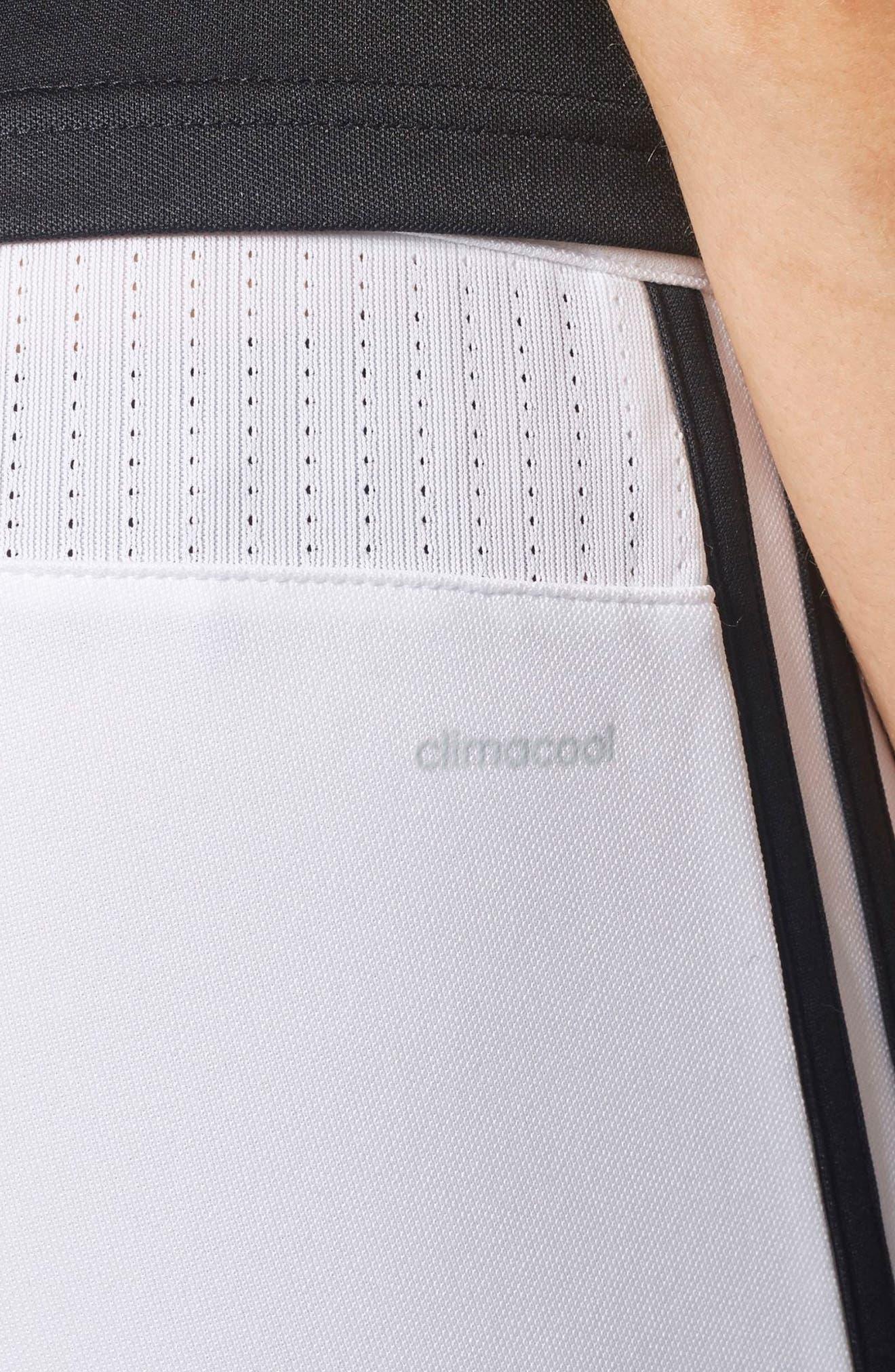Tiro 17 Training Pants,                             Alternate thumbnail 8, color,                             WHITE/ BLACK