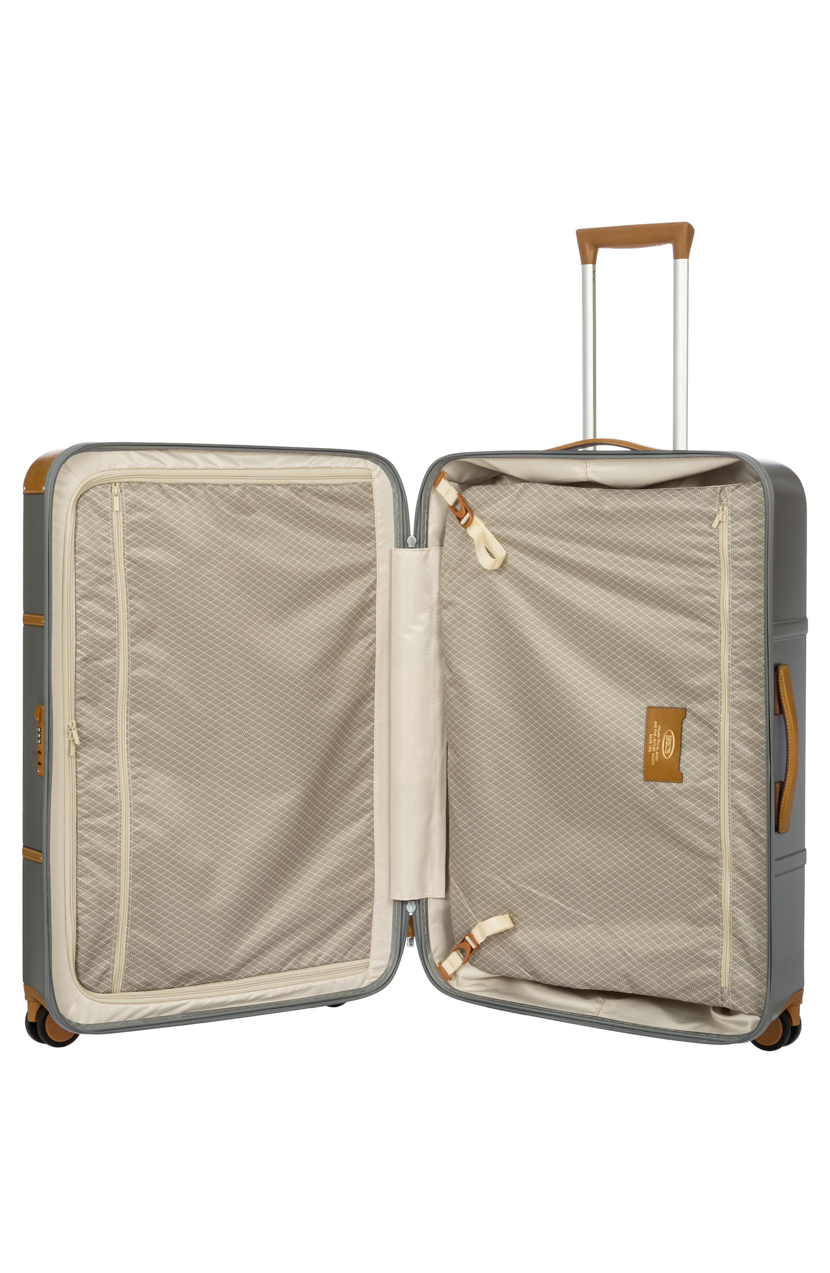 Bellagio 2.0 30-Inch Rolling Spinner Suitcase,                             Alternate thumbnail 9, color,                             SILVER
