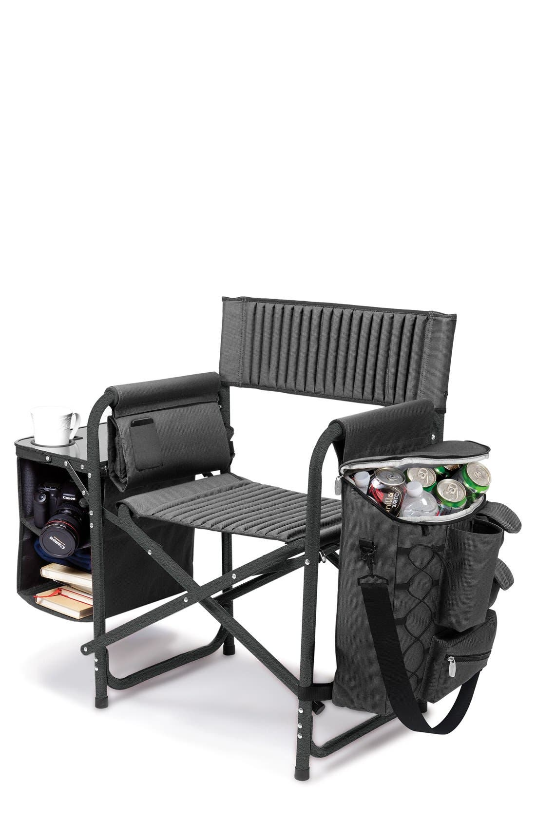 ONIVA Fusion Lawn Chair,                         Main,                         color, BLACK