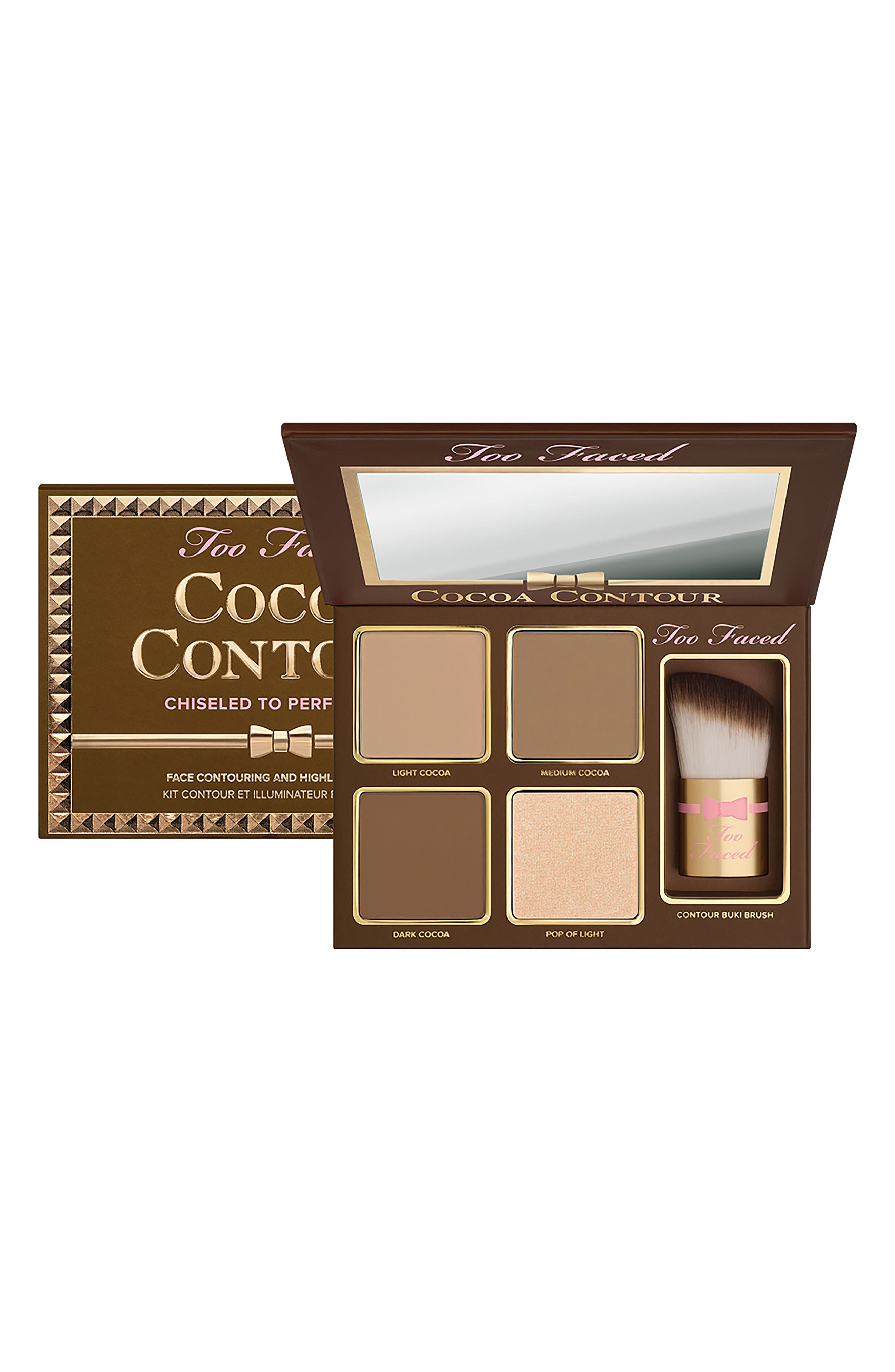 Cocoa Contour Chiseled To Perfection Palette,                             Alternate thumbnail 3, color,                             NO COLOR