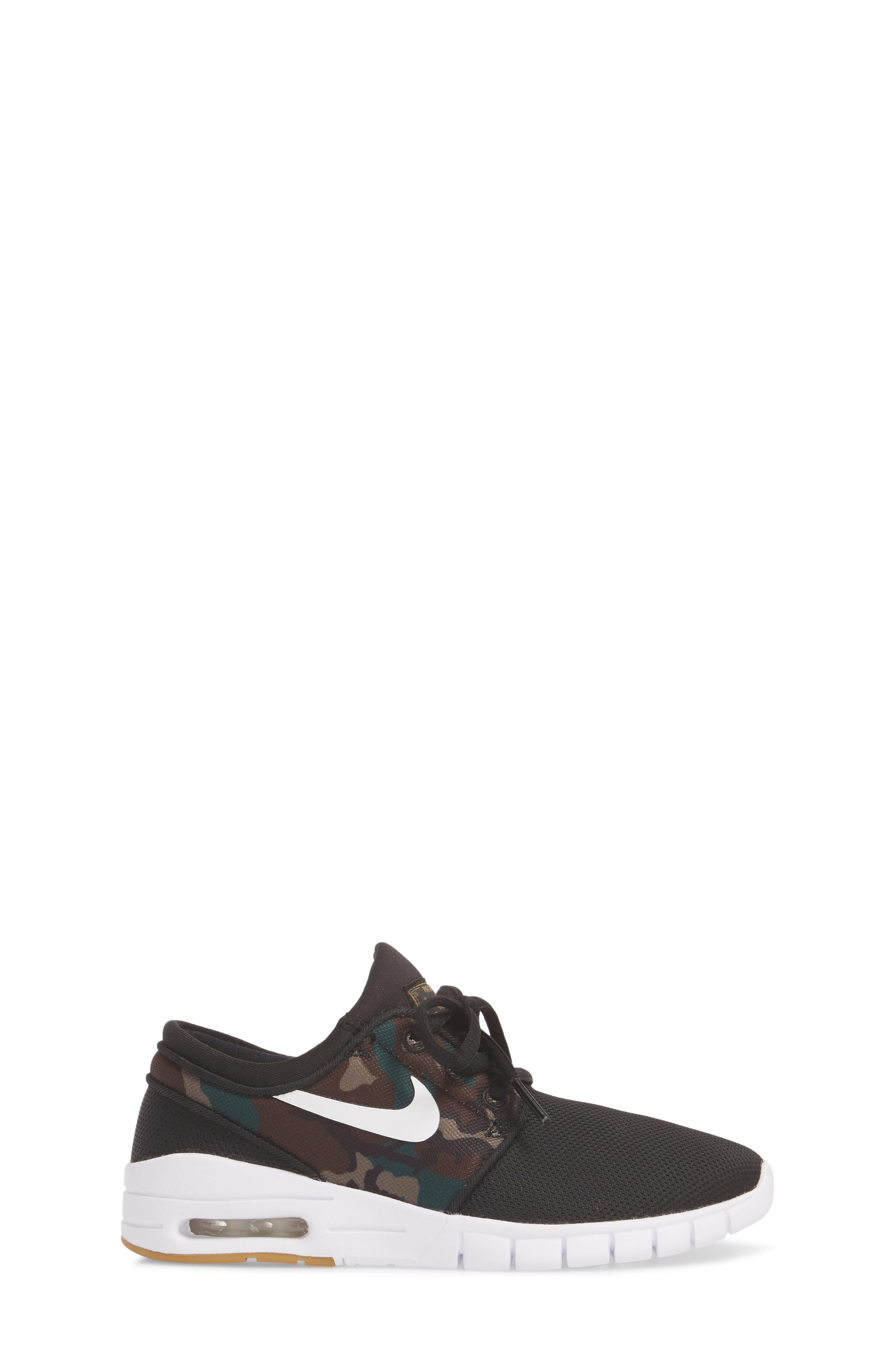 Stefan Janoski Max SB Skate Sneaker,                             Alternate thumbnail 3, color,                             006