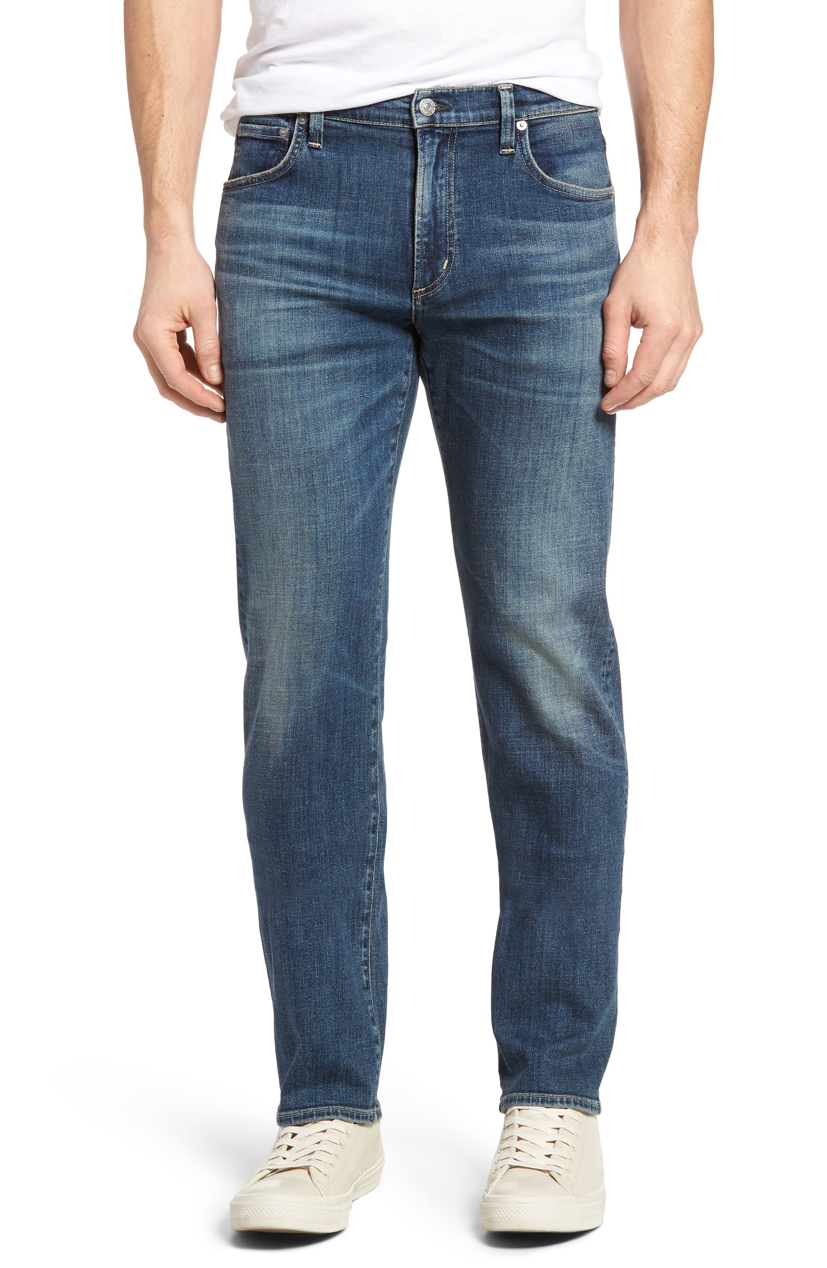 Sid Straight Leg Jeans,                         Main,                         color, REDFORD