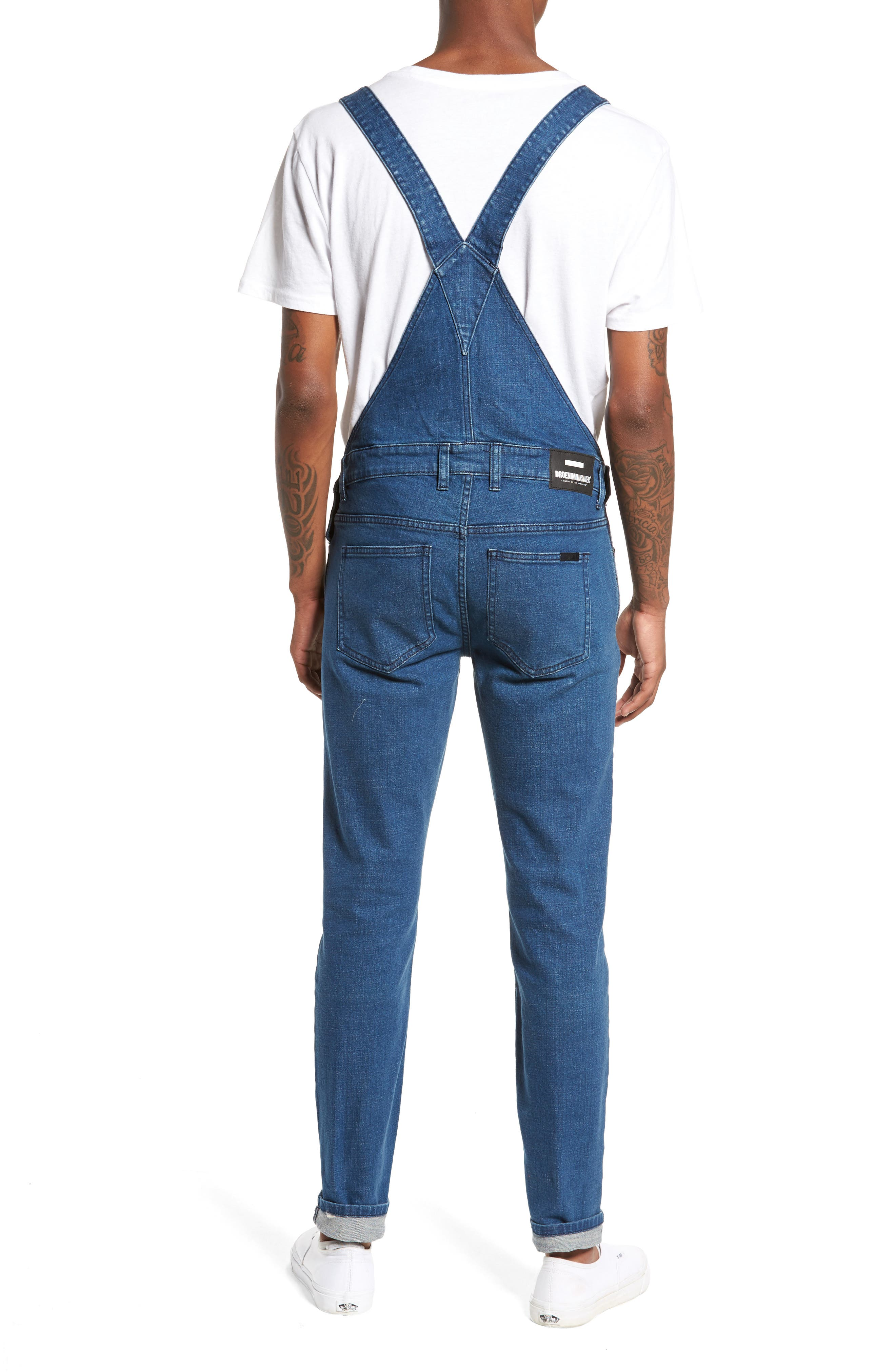 Ira Skinny Fit Overalls,                             Alternate thumbnail 2, color,                             400