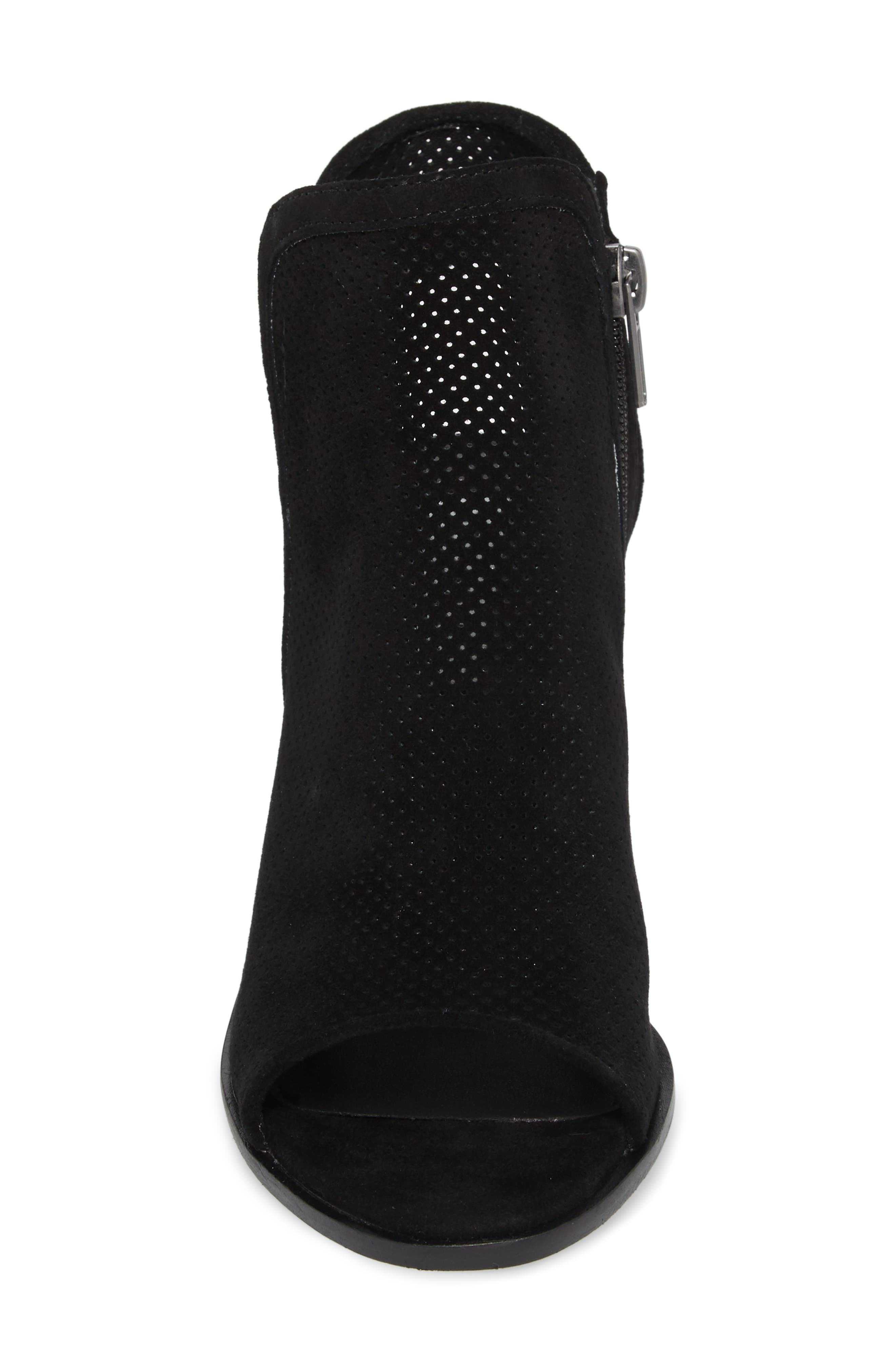 Maxine Perforated Bootie,                             Alternate thumbnail 4, color,                             006