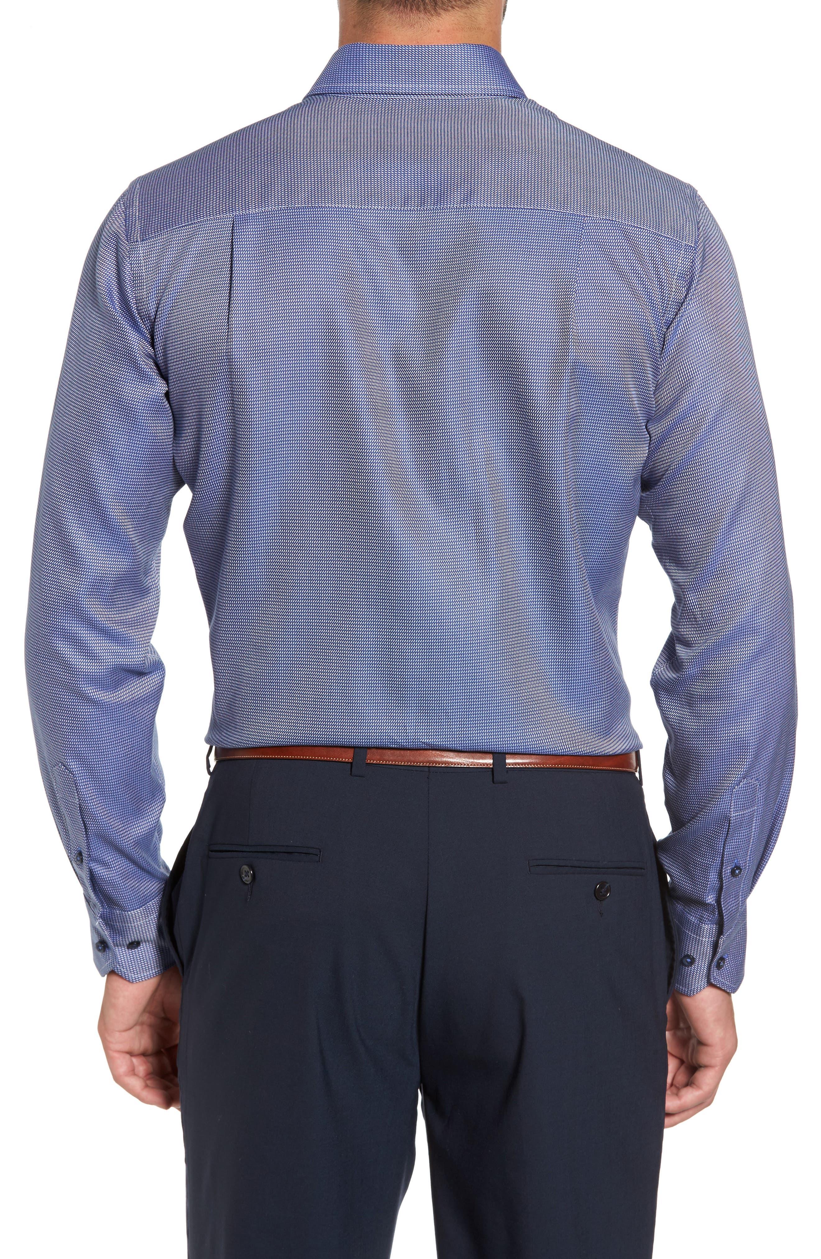 Print Regular Fit Sport Shirt,                             Alternate thumbnail 4, color,