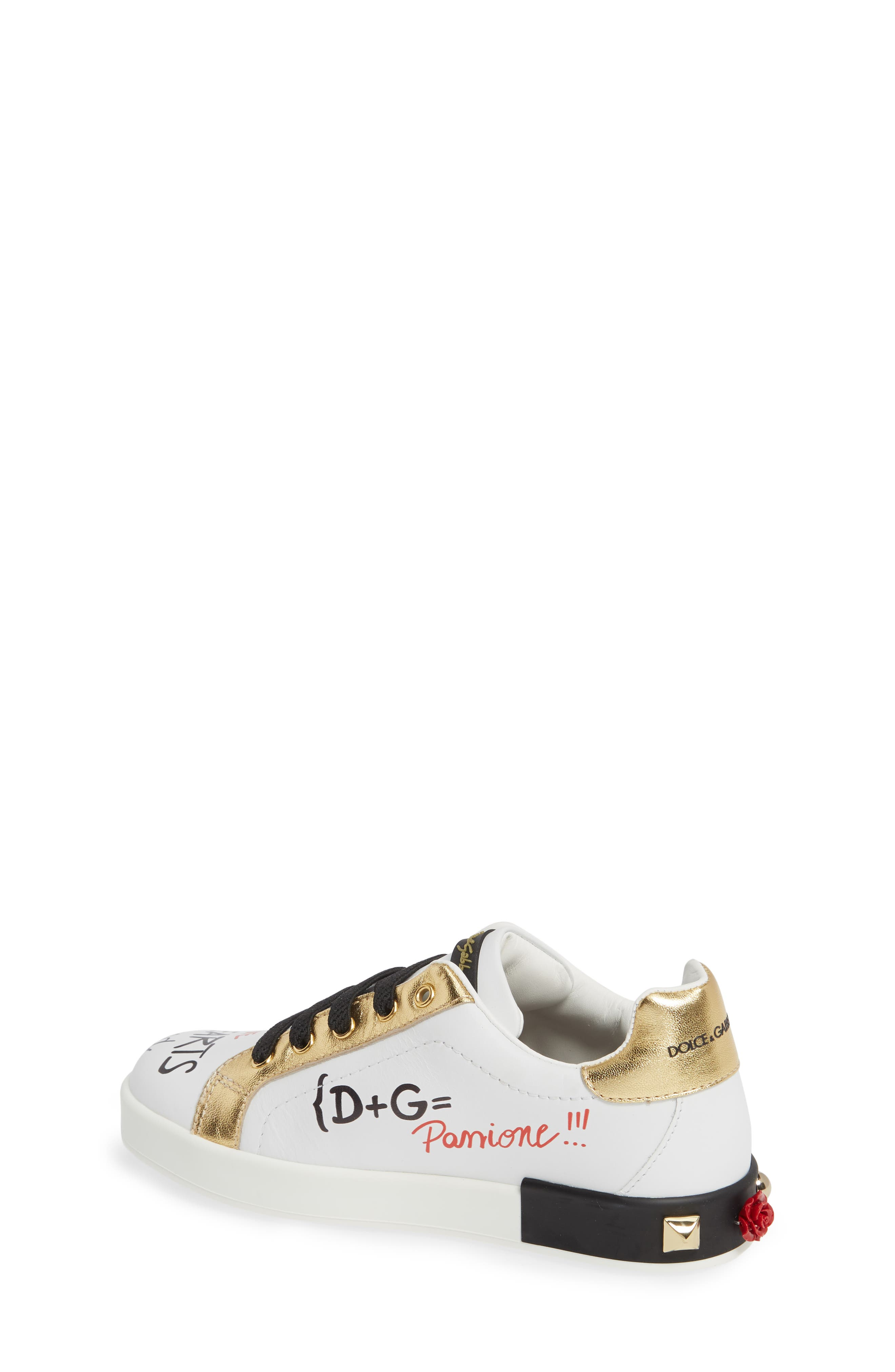Amore Low Top Sneaker,                             Alternate thumbnail 8, color,                             WHITE