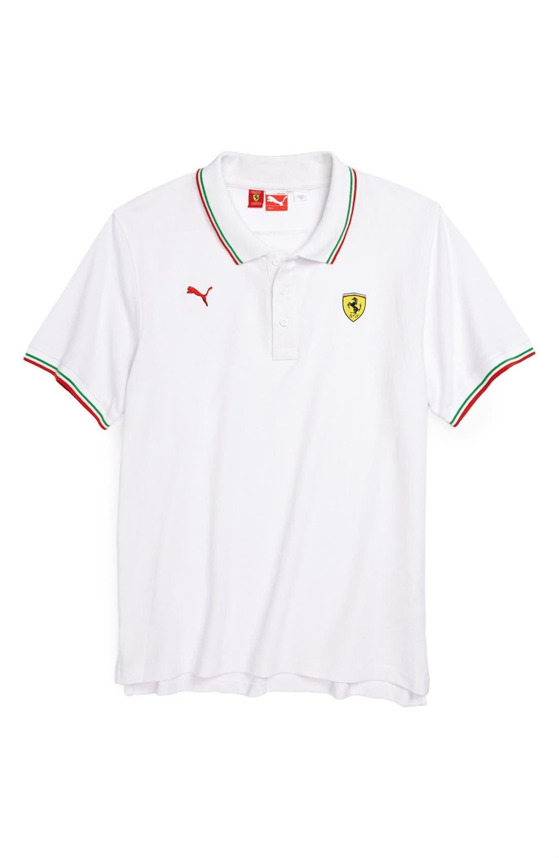 'Ferrari' Polo, Main, color, 100