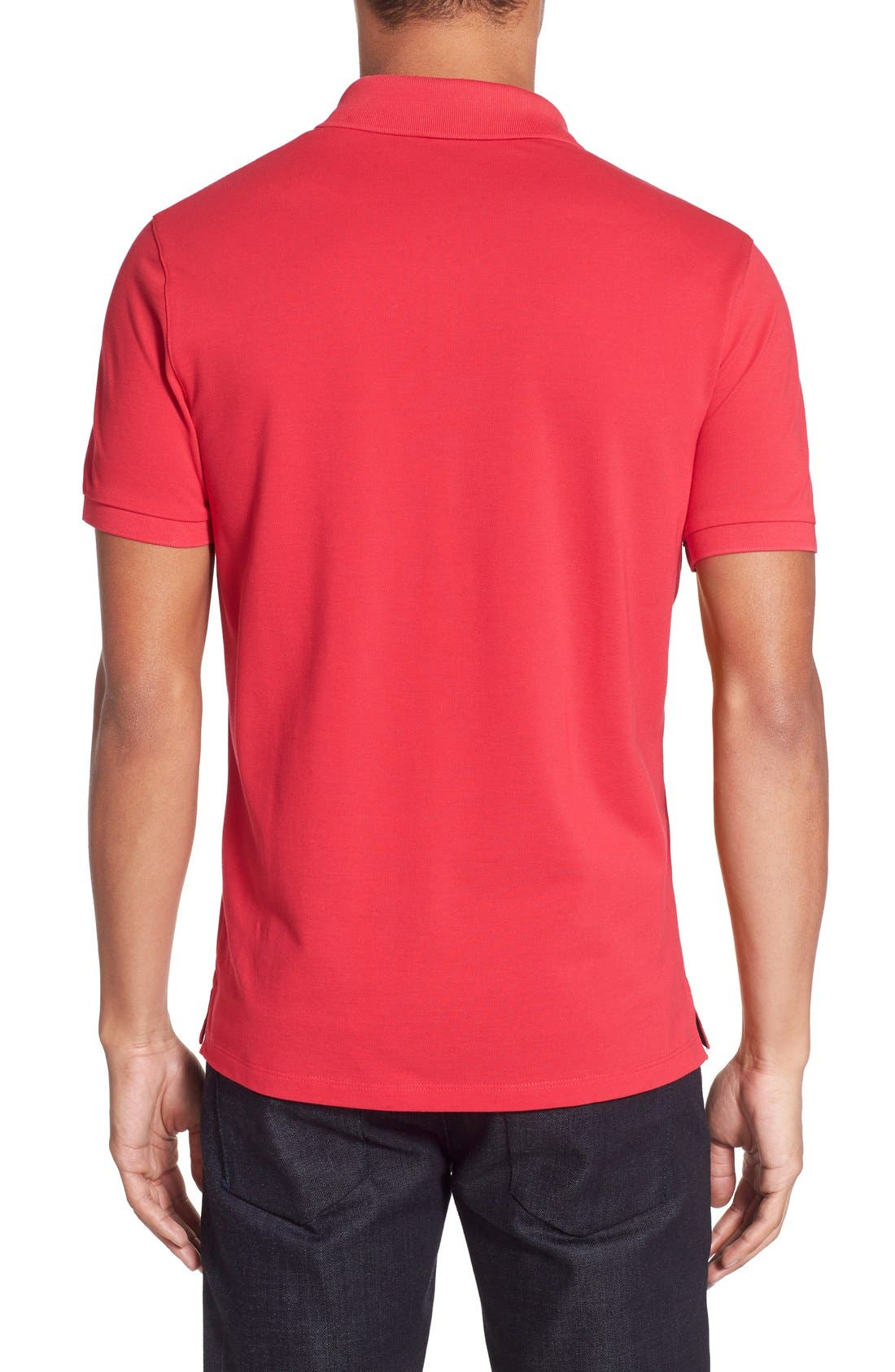 'Pallas' Regular Fit Logo Embroidered Polo Shirt,                             Alternate thumbnail 84, color,