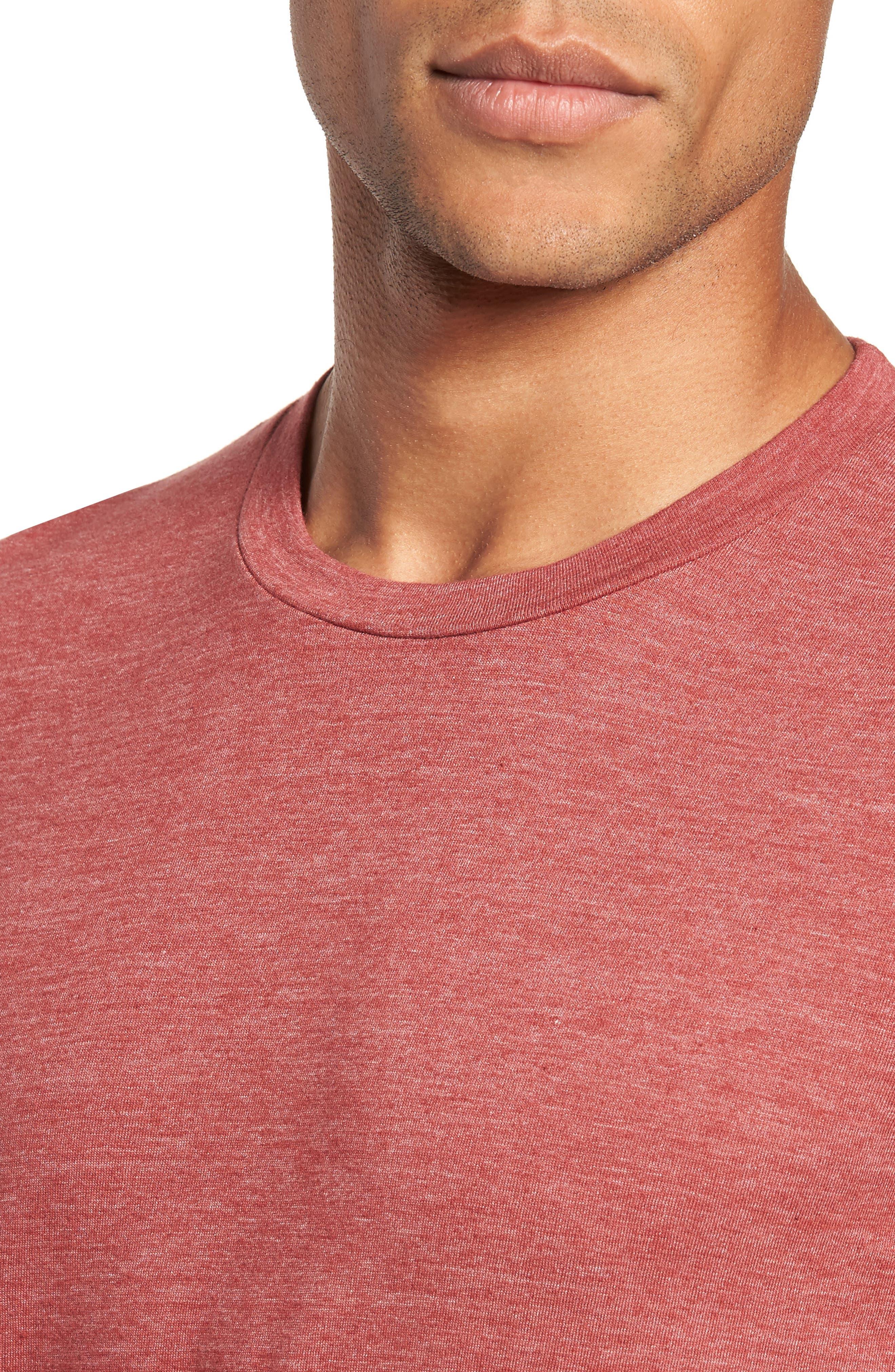 Scallop Triblend Crewneck T-Shirt,                             Alternate thumbnail 82, color,