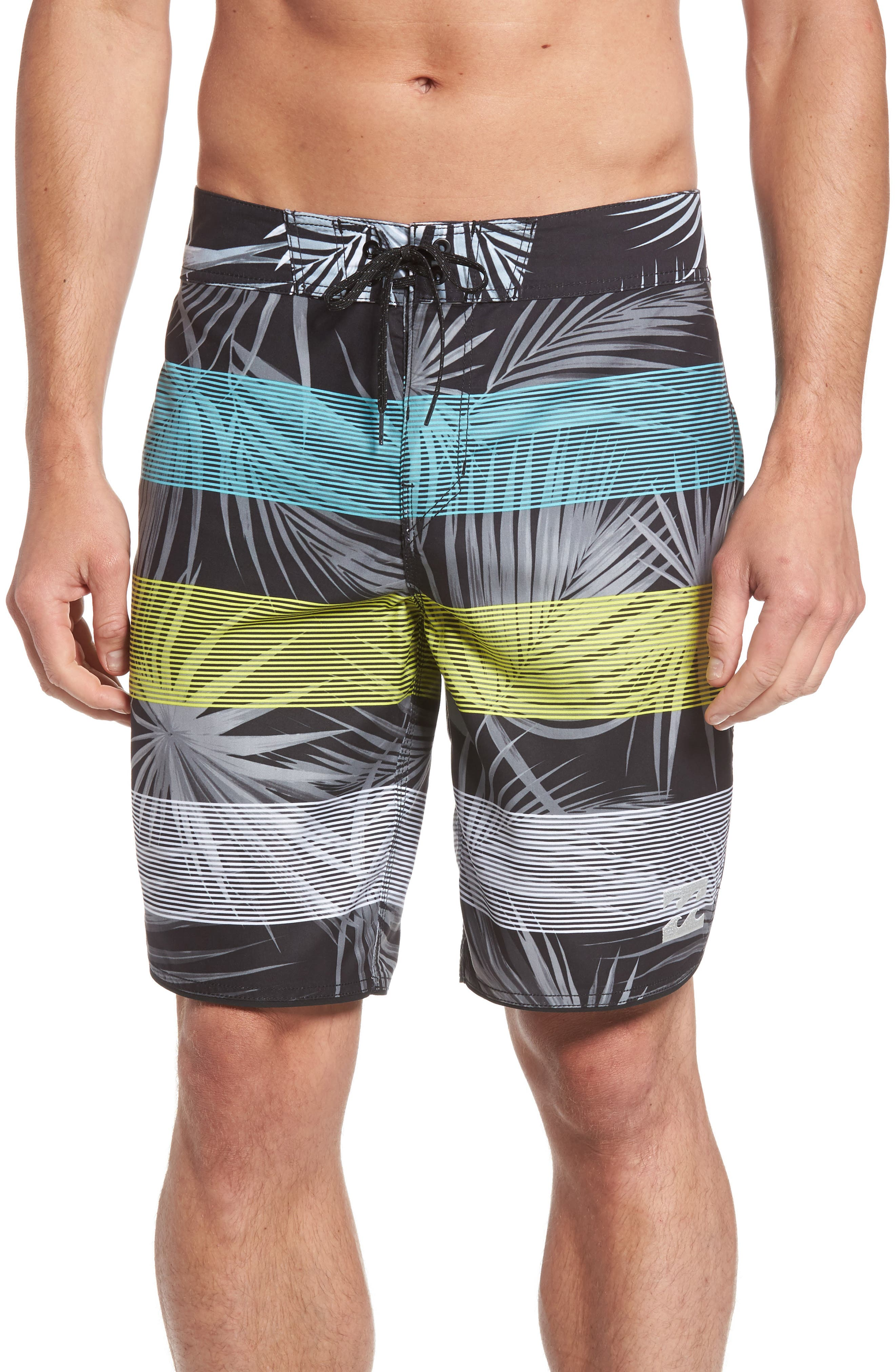 73 OG Stripe Board Shorts,                         Main,                         color, 001