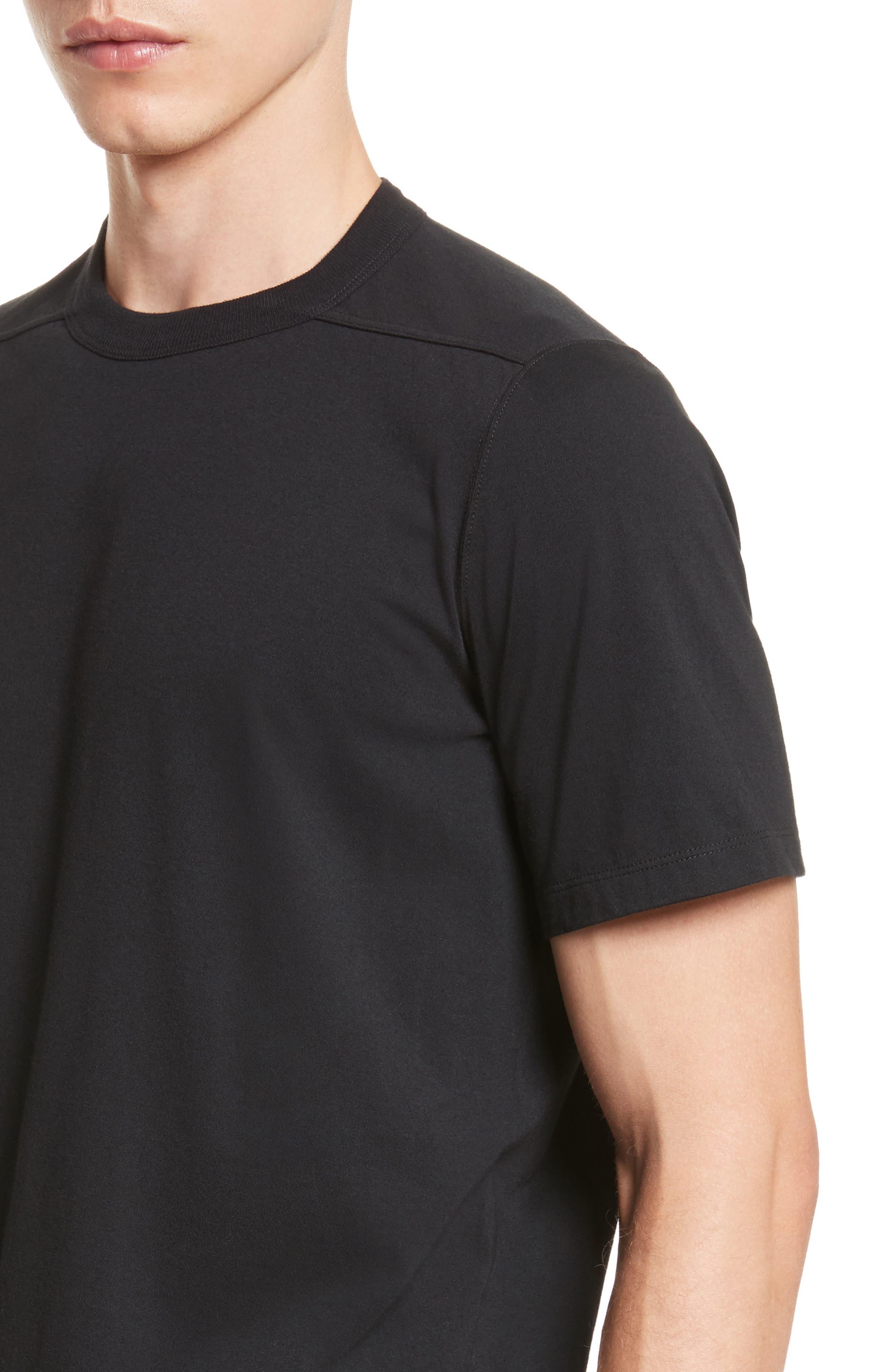 Elongated T-Shirt,                             Alternate thumbnail 4, color,                             009