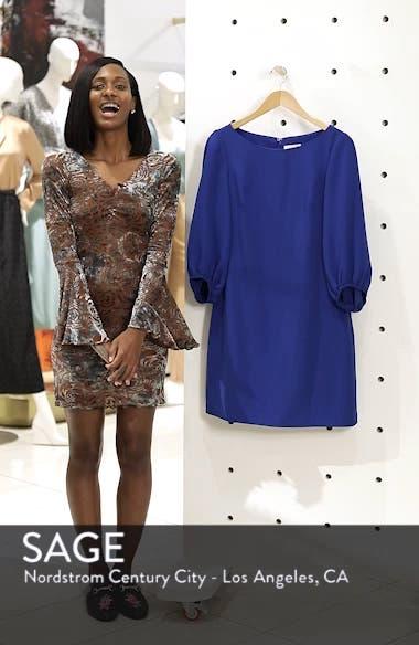 Bloused Sleeve Shift Dress, sales video thumbnail