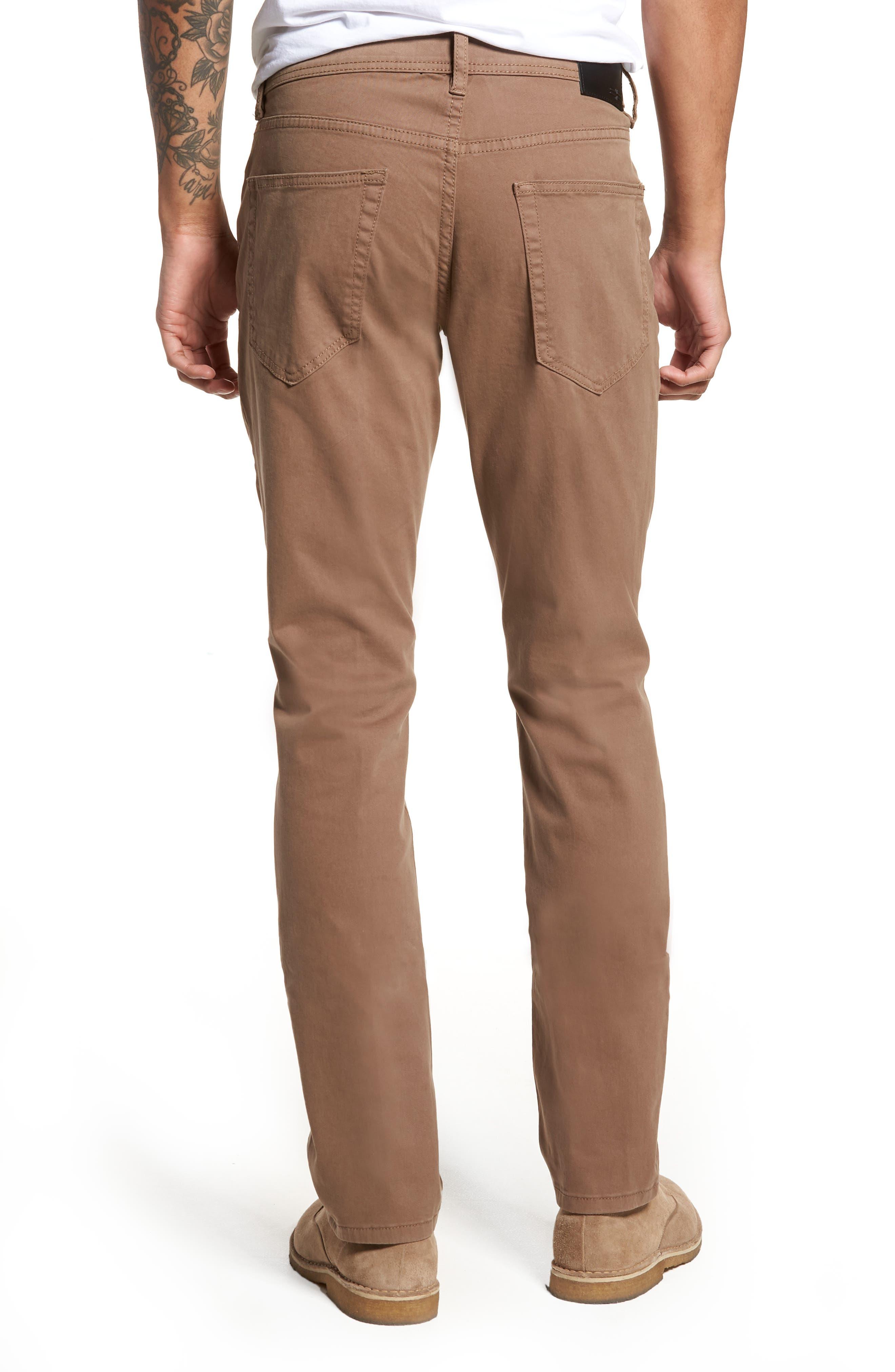 Jeans Co. Kingston Slim Straight Leg Jeans,                             Alternate thumbnail 2, color,                             CUB