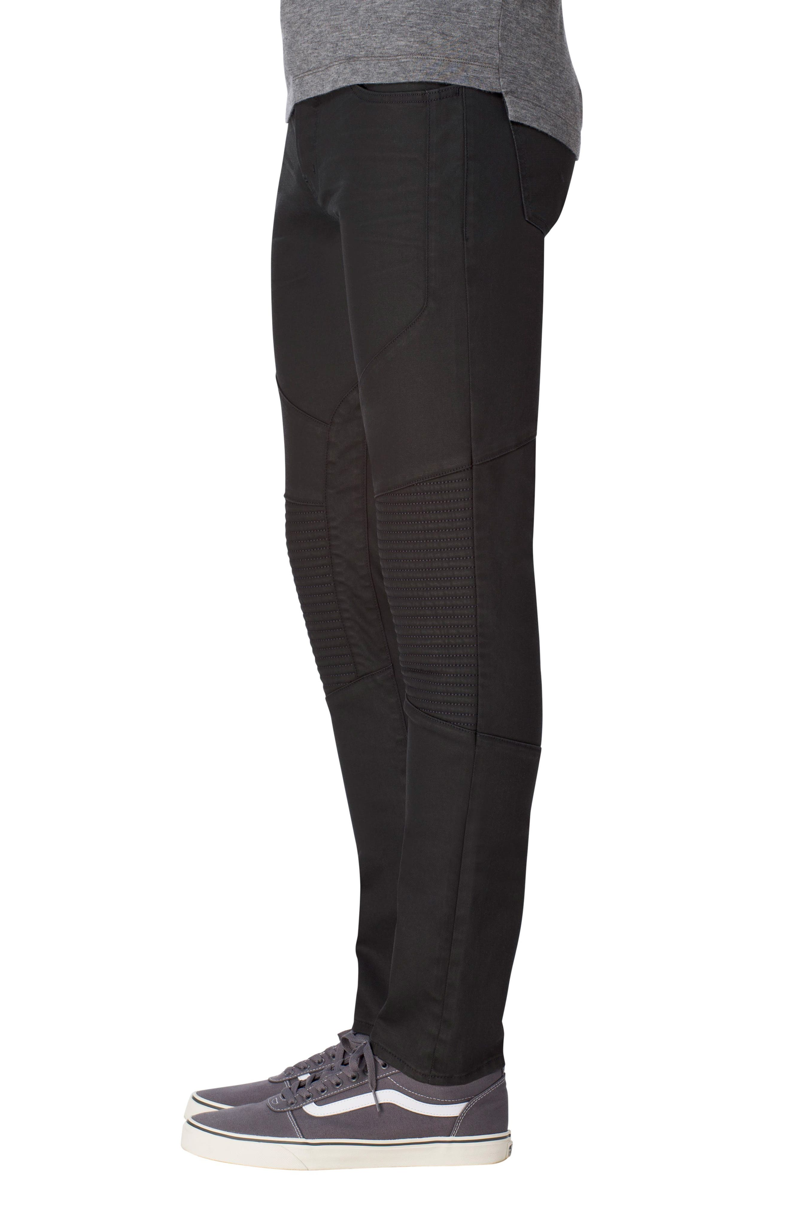 Bearden Moto Skinny Fit Jeans,                             Alternate thumbnail 3, color,