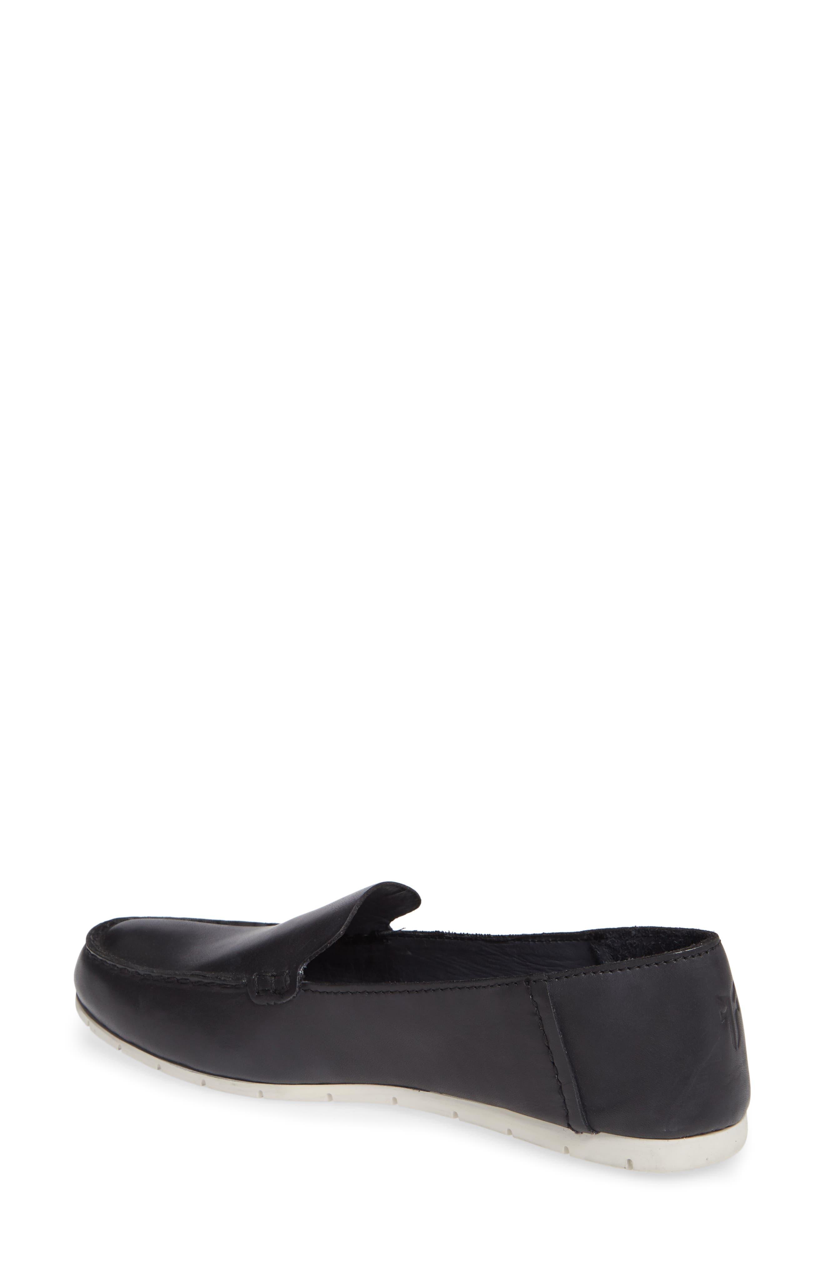 Sedona Venetian Loafer,                             Alternate thumbnail 2, color,                             BLACK LEATHER