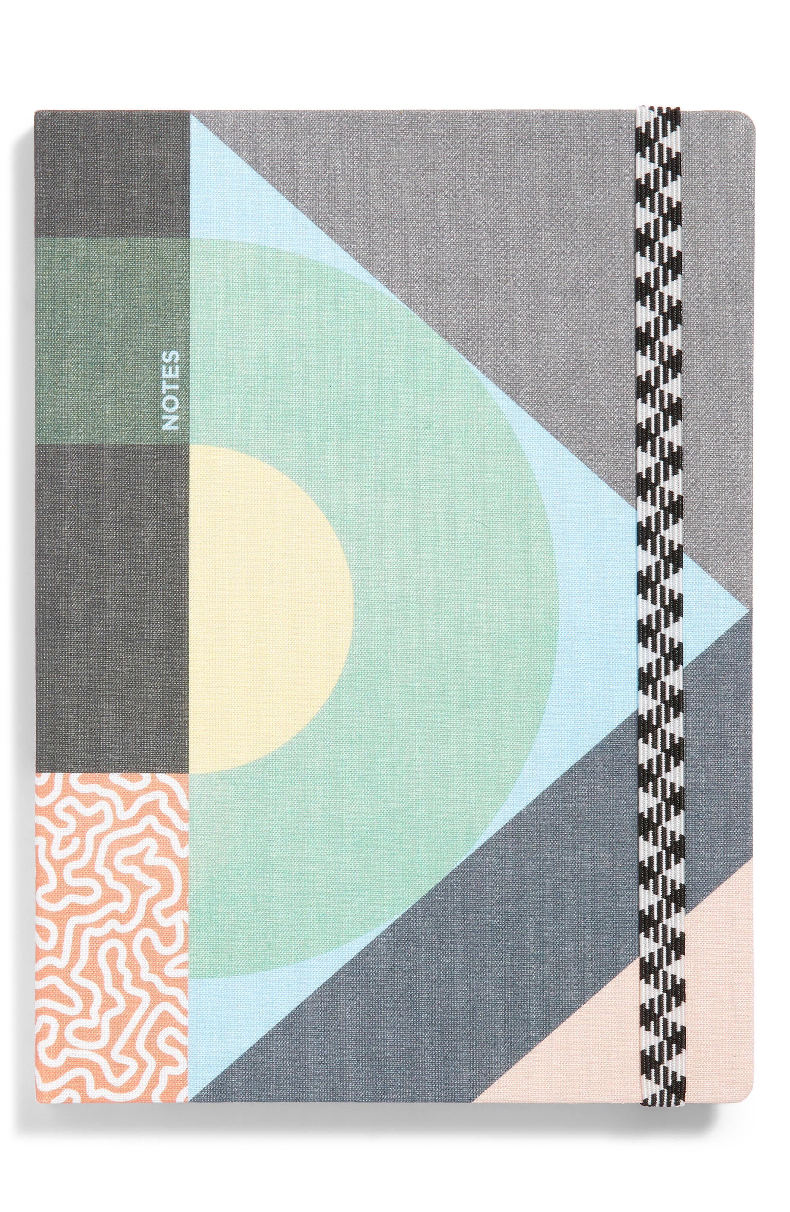 Giratoire Roundabout Notebook,                             Main thumbnail 1, color,                             MULTI