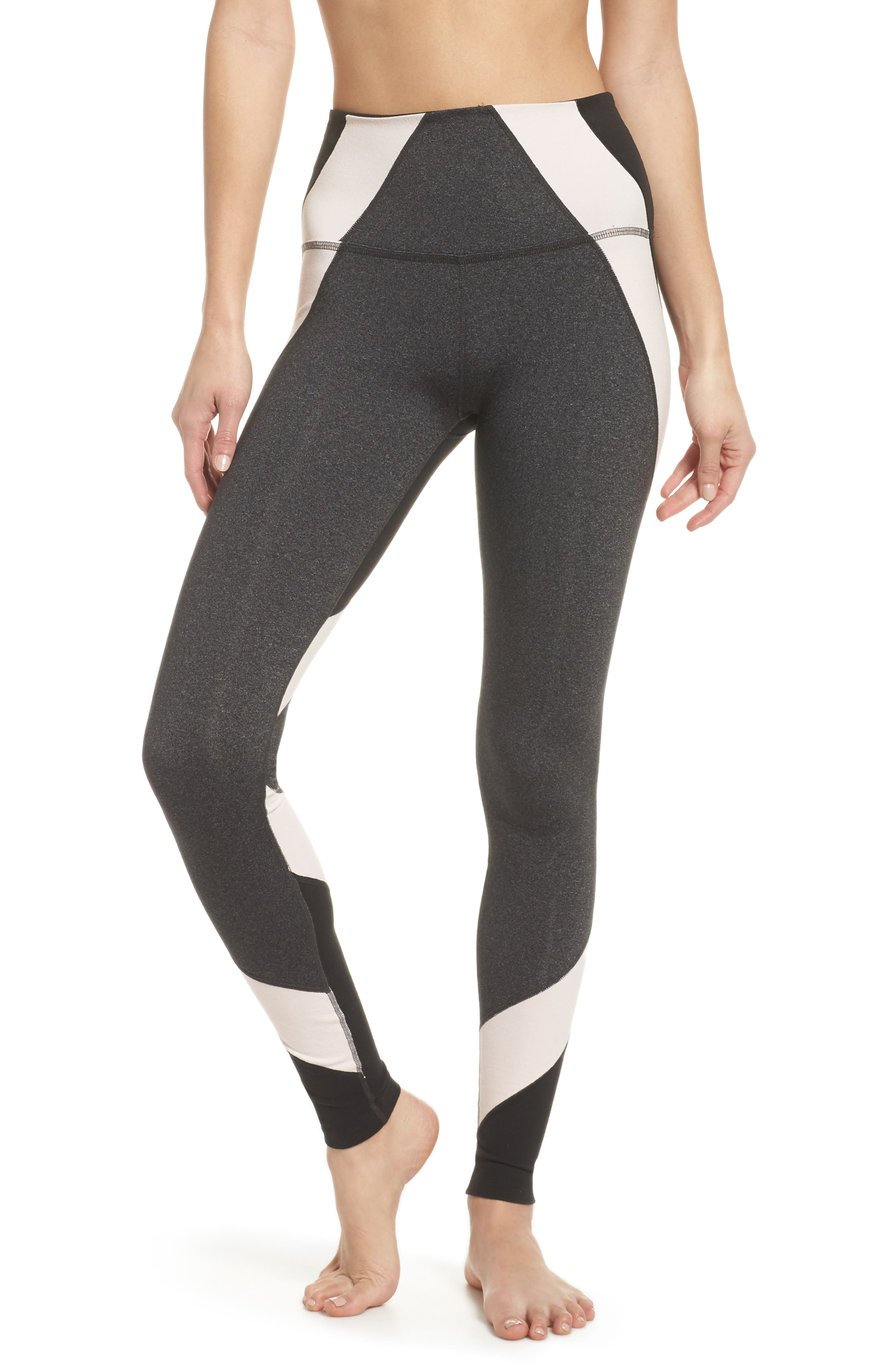 Around the Colorblock High Waist Leggings,                             Main thumbnail 1, color,                             062