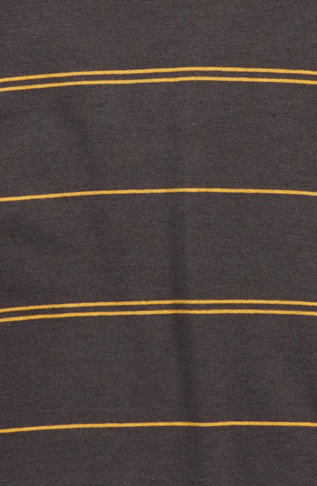 Die Cut Stripe Ringer T-Shirt,                             Alternate thumbnail 5, color,